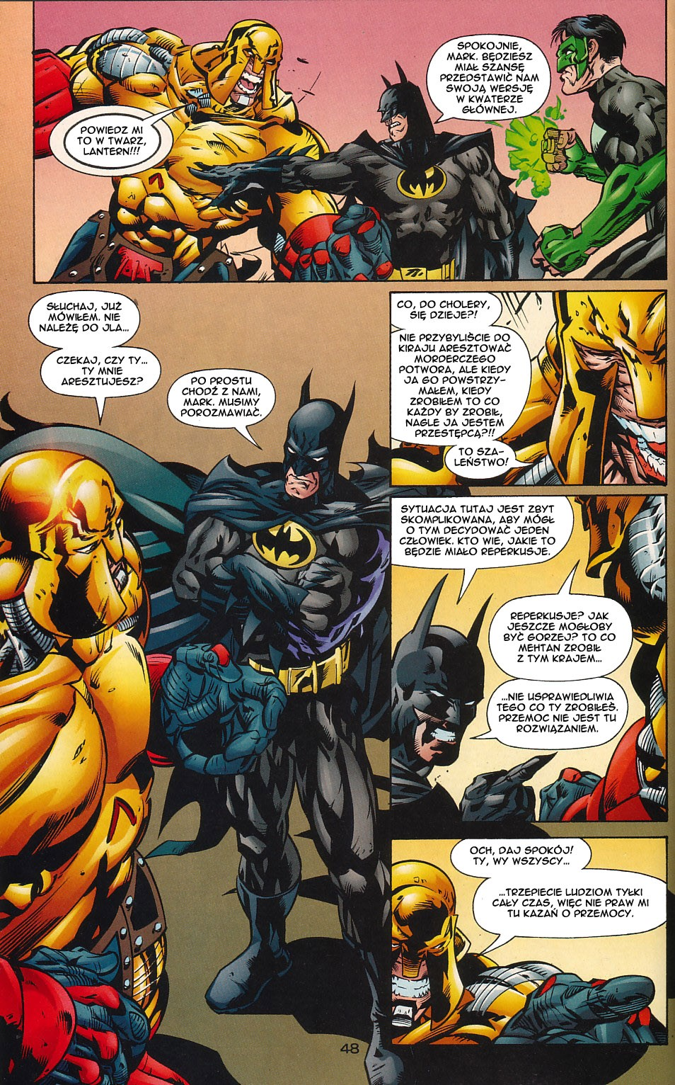 Read online JLA Superpower comic -  Issue # Full - 48
