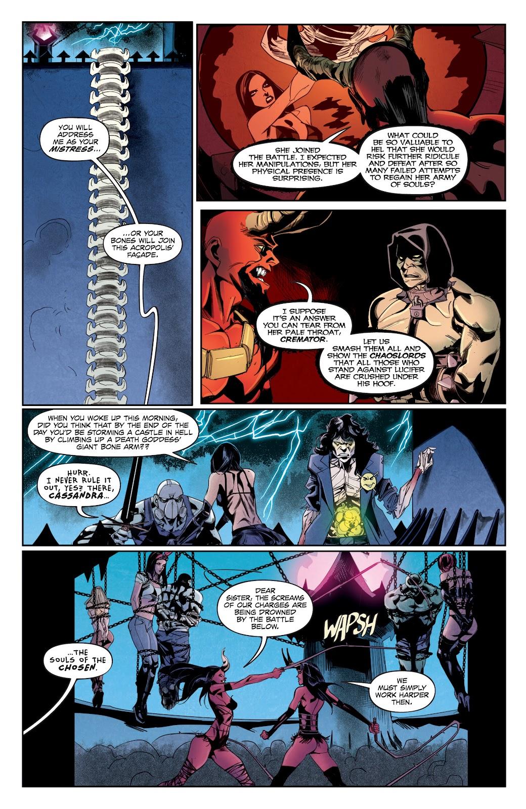 Read online Hack/Slash vs. Chaos comic -  Issue #5 - 8