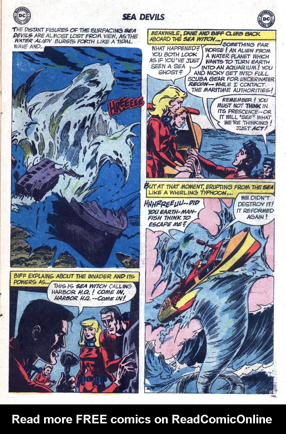 Read online Sea Devils comic -  Issue #7 - 16