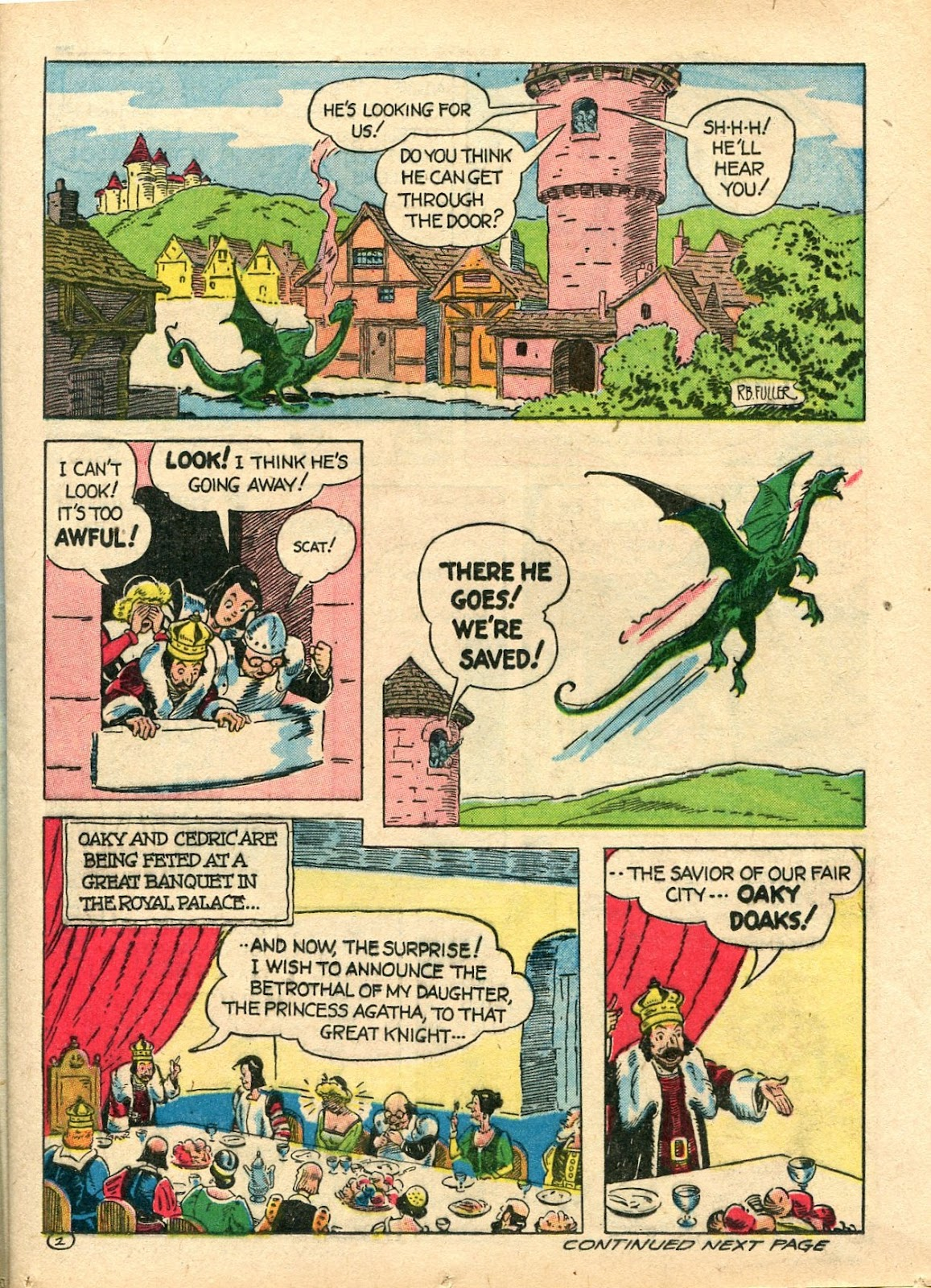 Read online Famous Funnies comic -  Issue #112 - 25