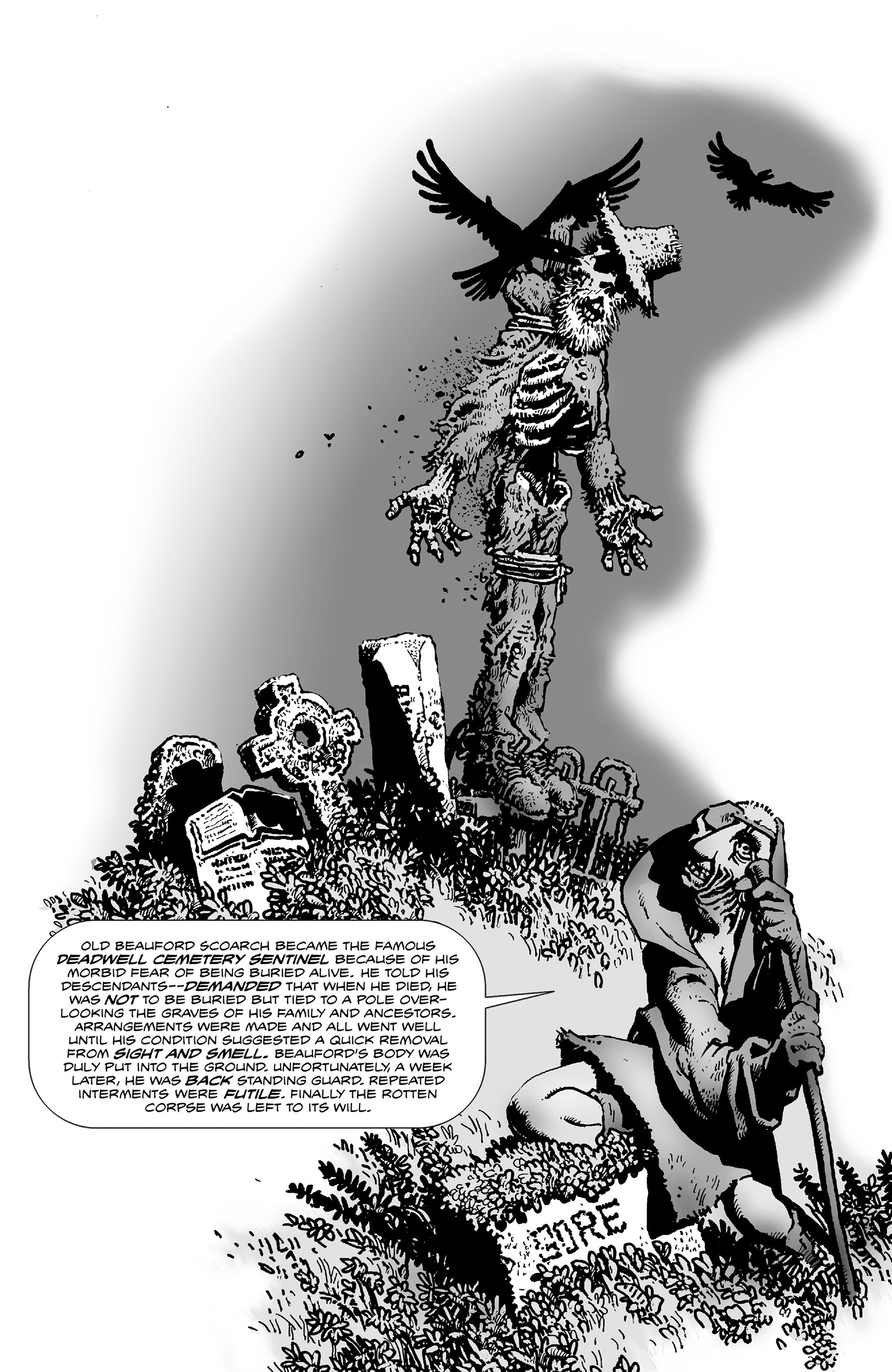 Read online Shadows on the Grave comic -  Issue #3 - 2