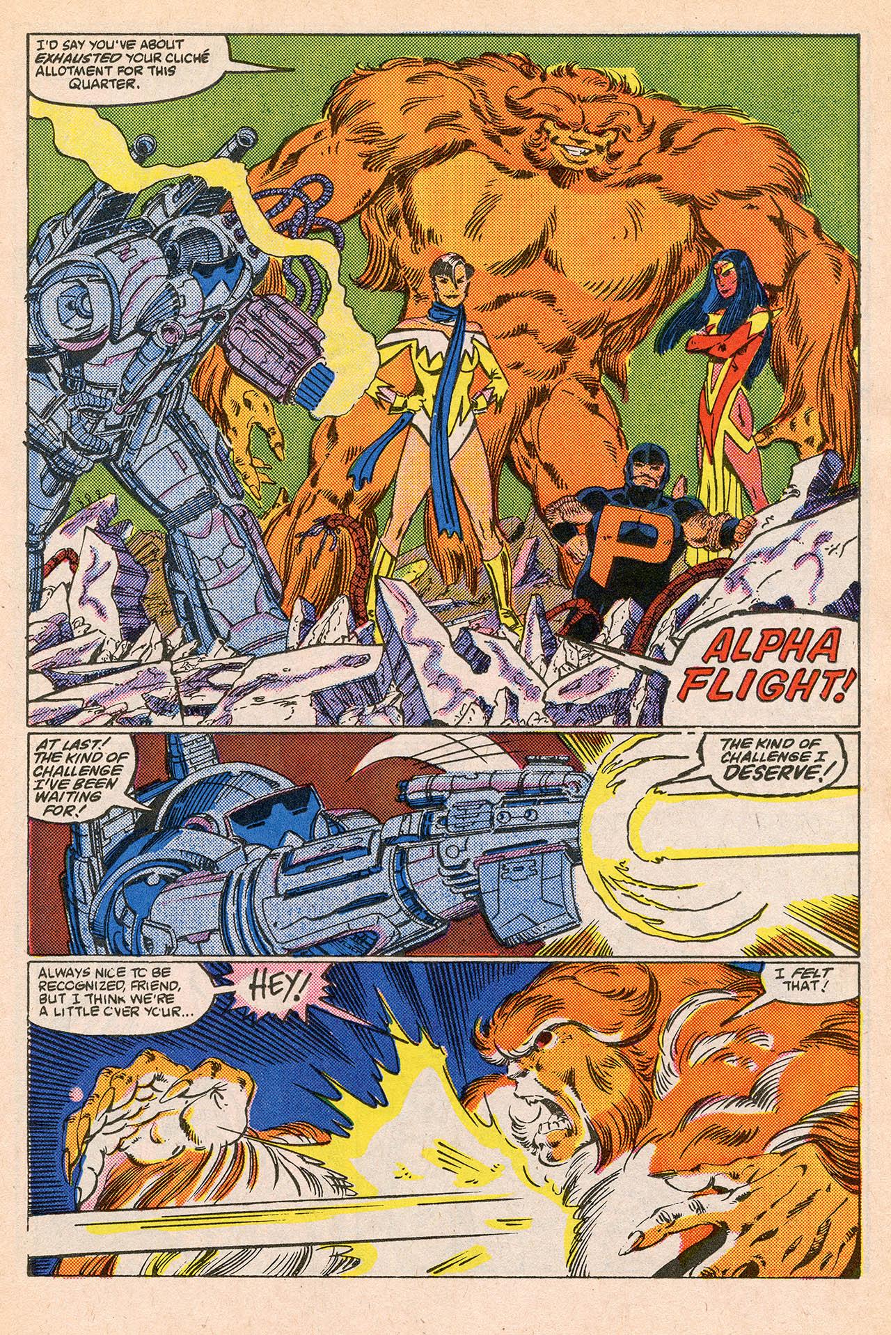 Read online Alpha Flight (1983) comic -  Issue #23 - 15