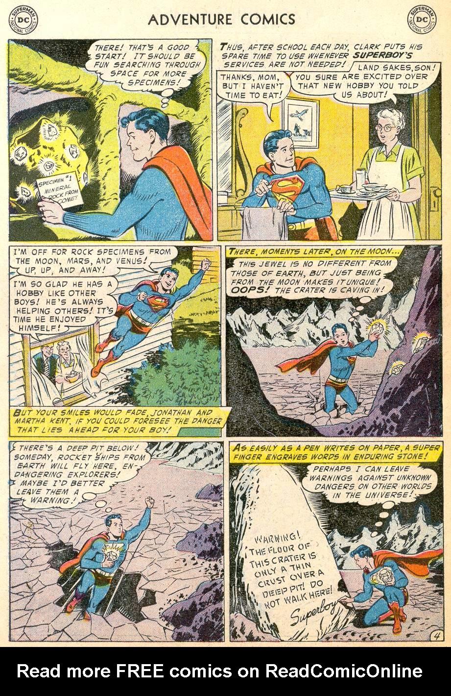Read online Adventure Comics (1938) comic -  Issue #215 - 6