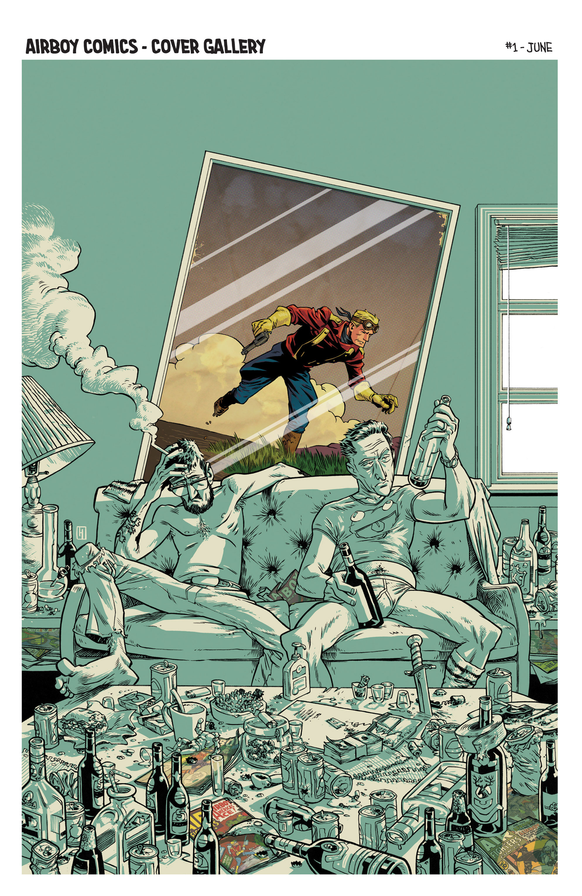 Read online Airboy comic -  Issue #1 - 25