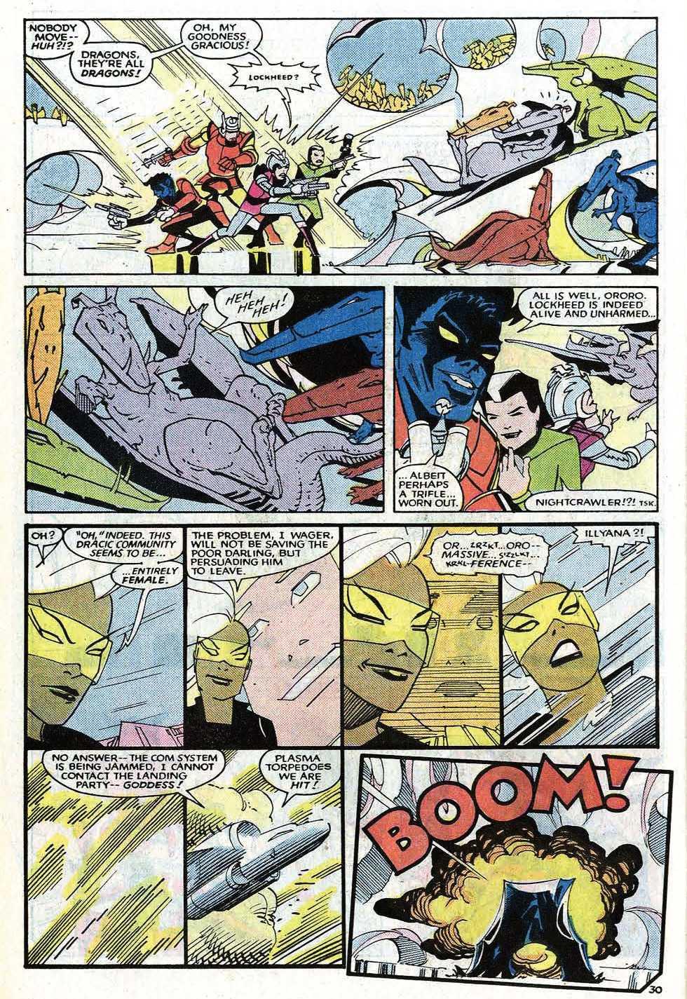Read online Uncanny X-Men (1963) comic -  Issue # _Annual 8 - 36