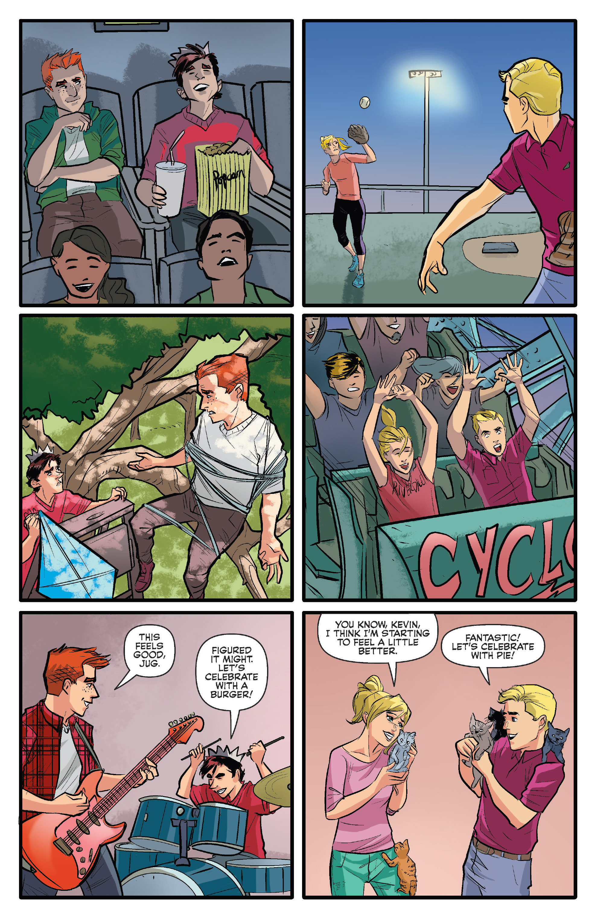 Read online Archie (2015) comic -  Issue #13 - 15