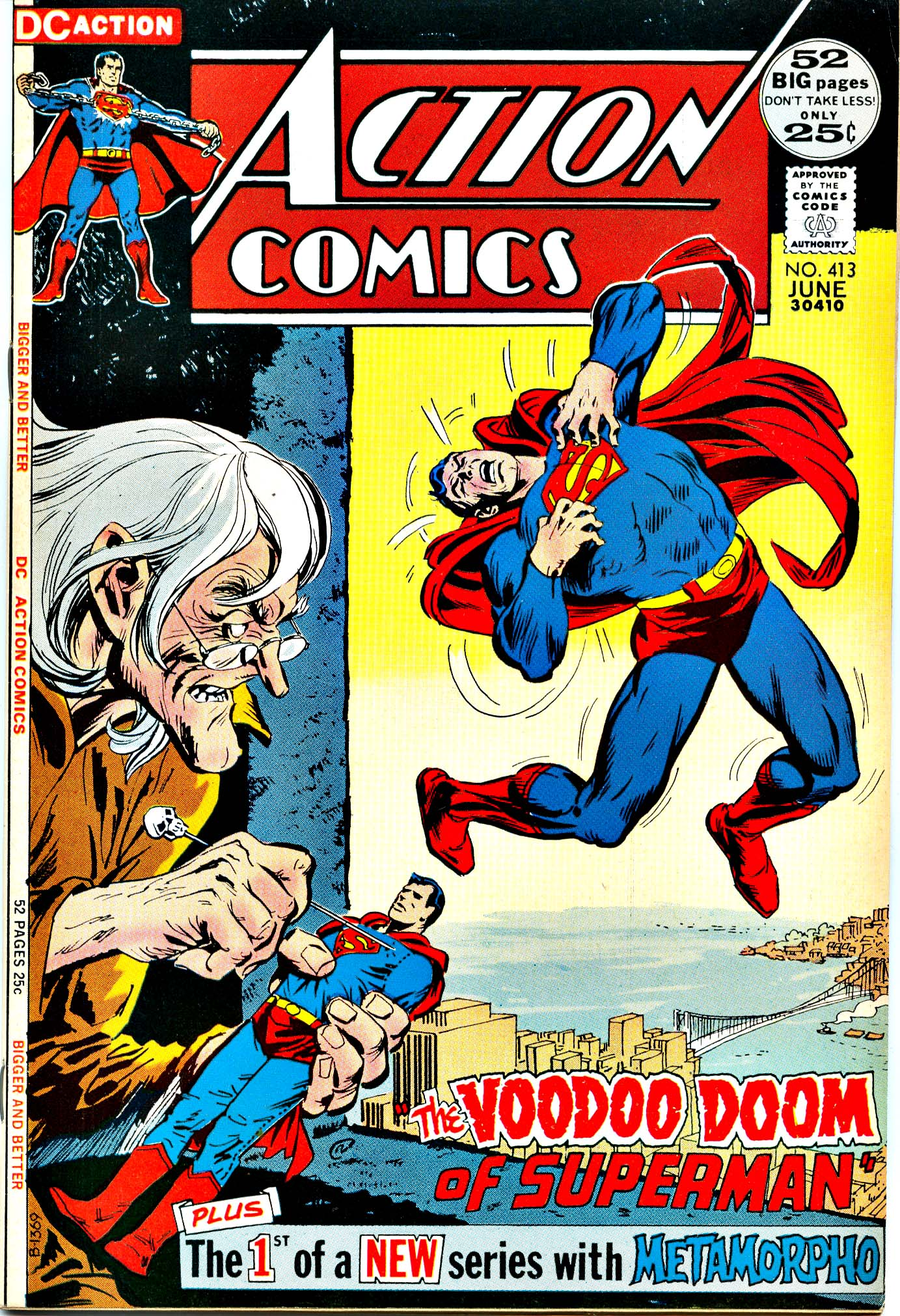 Read online Action Comics (1938) comic -  Issue #413 - 1