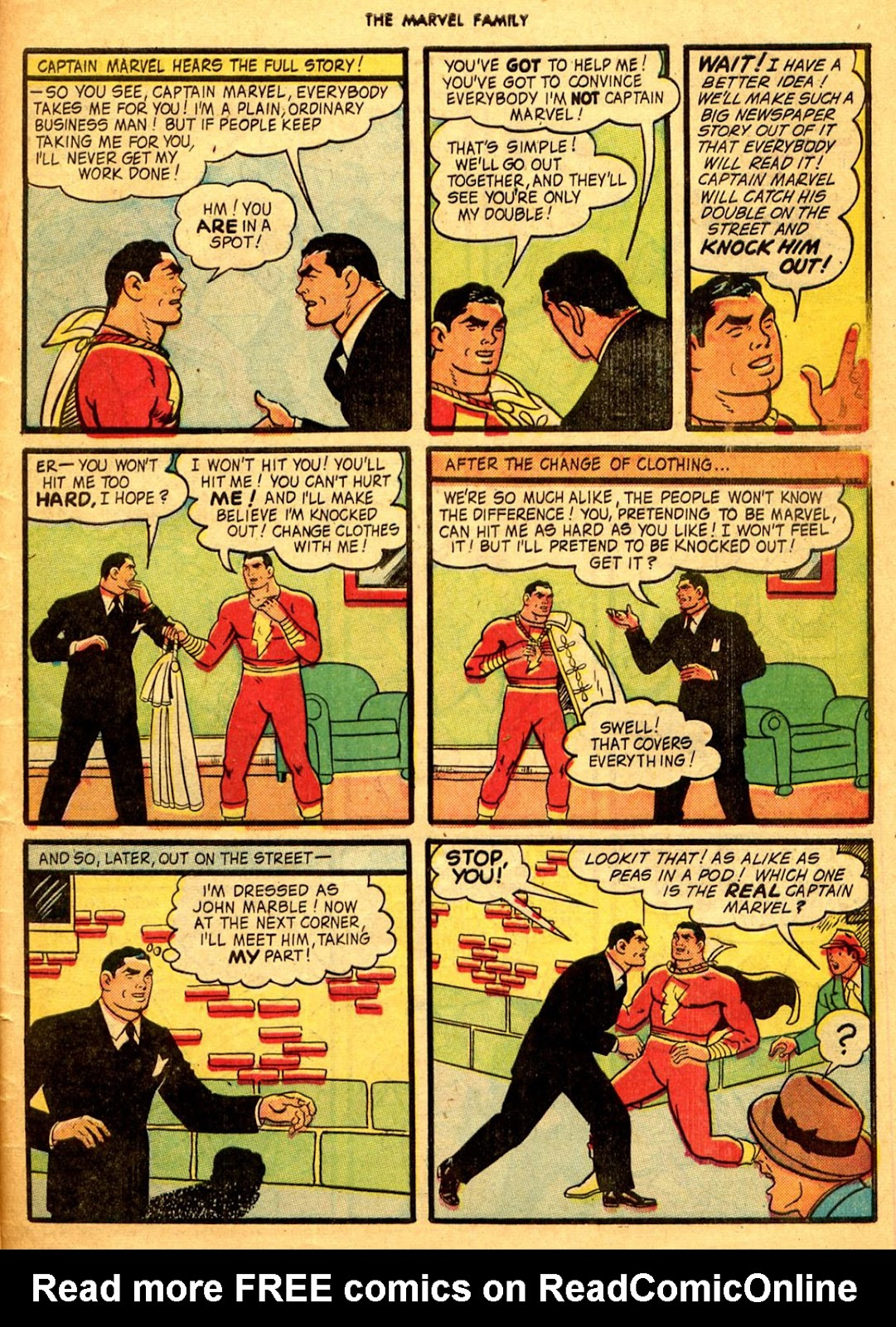 The Marvel Family issue 9 - Page 47