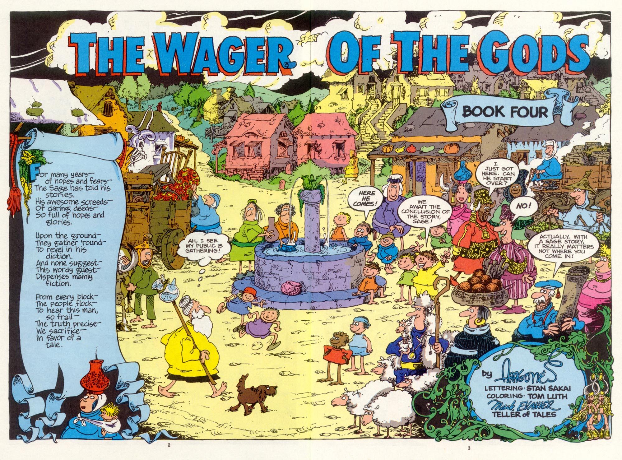 Read online Sergio Aragonés Groo the Wanderer comic -  Issue #99 - 4