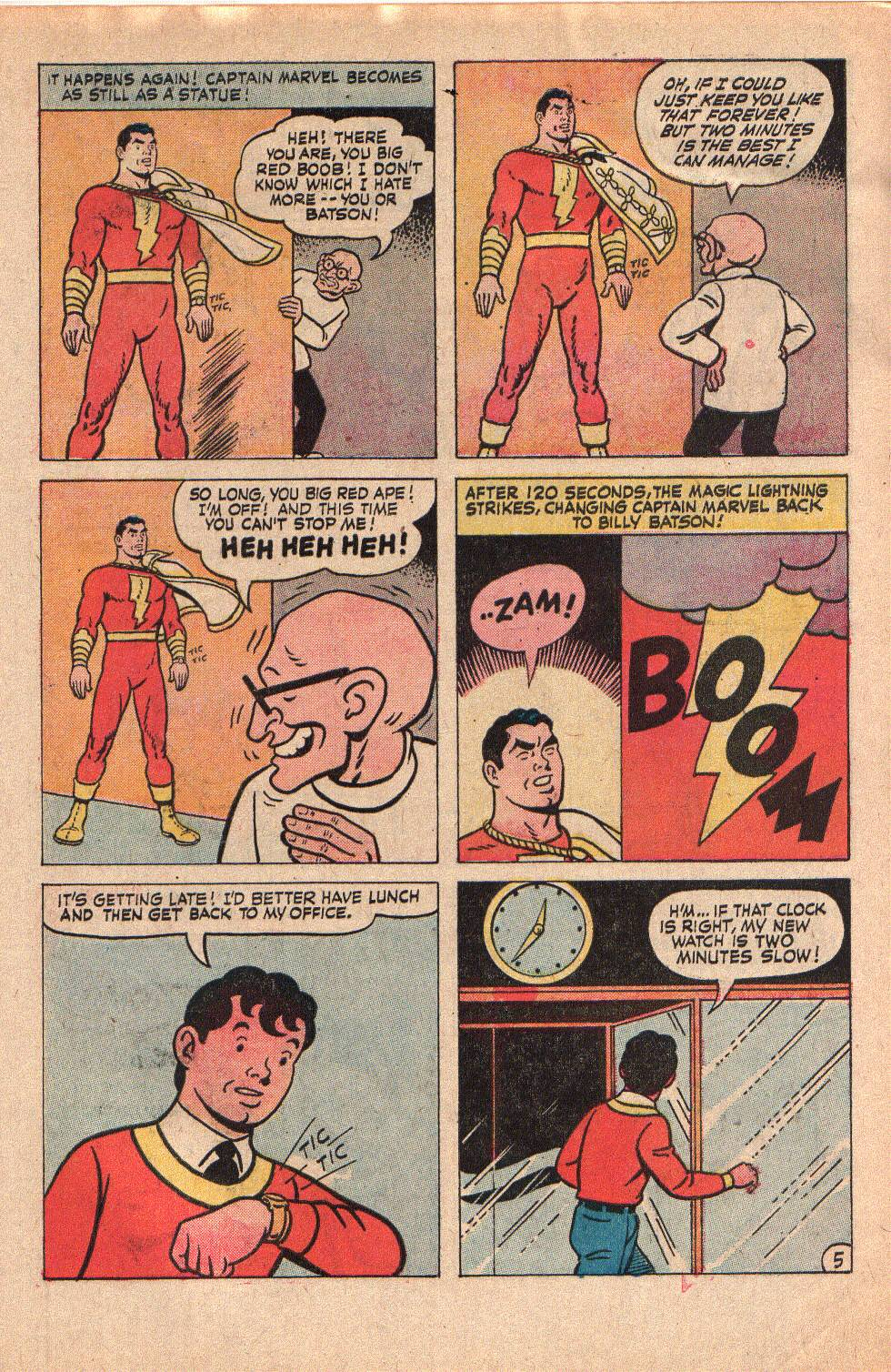 Read online Shazam! (1973) comic -  Issue #6 - 7