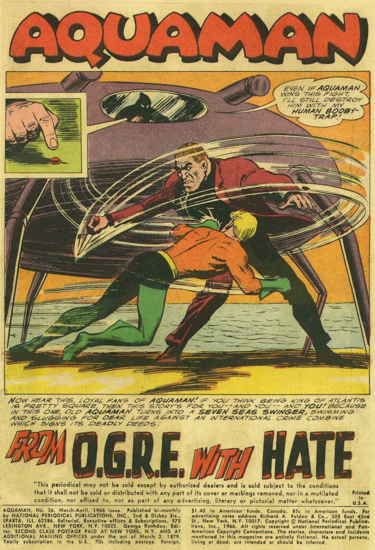 Aquaman (1962) Issue #26 #26 - English 3