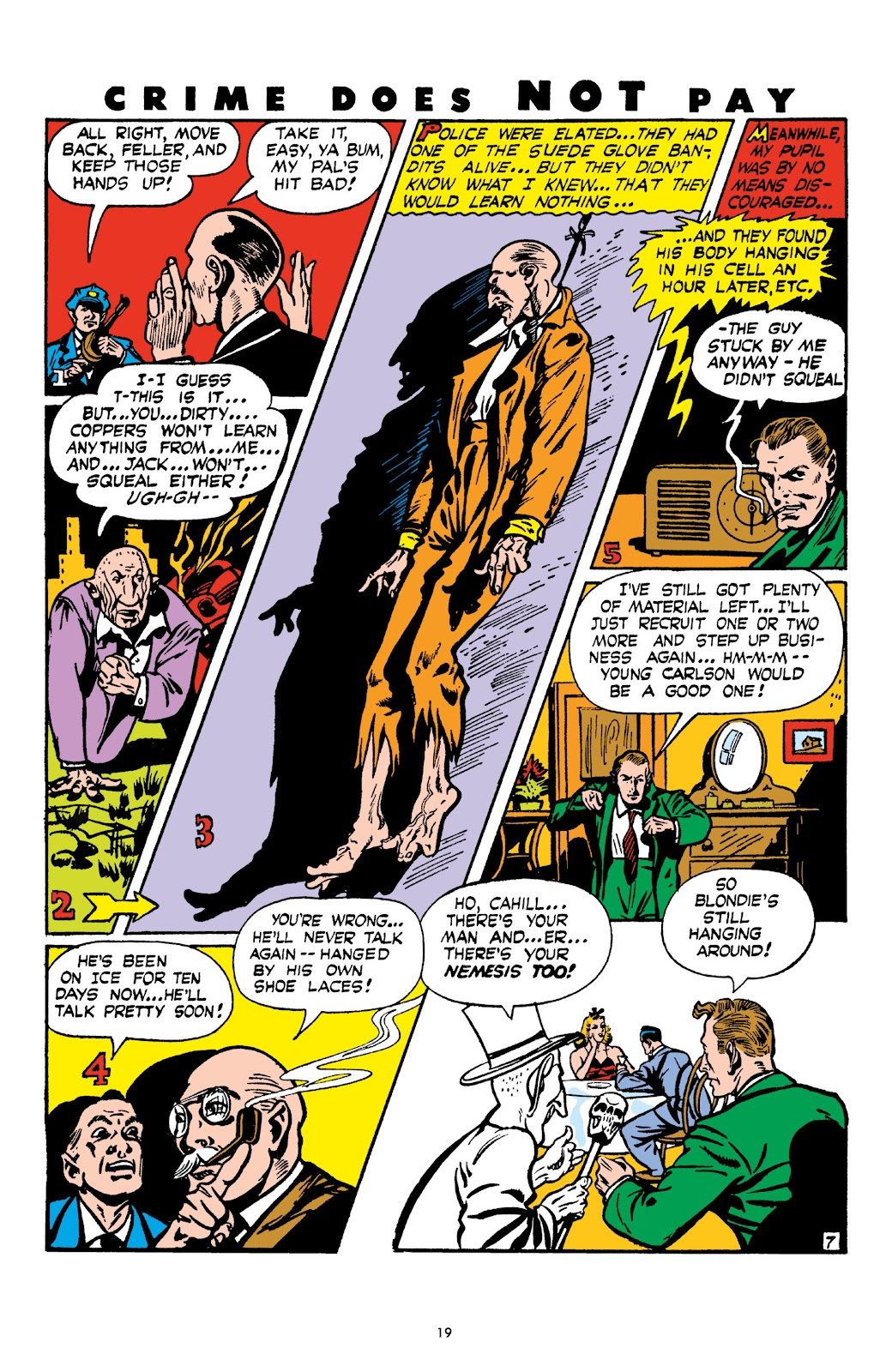 Read online Crime Does Not Pay Archives comic -  Issue # TPB 4 (Part 1) - 19