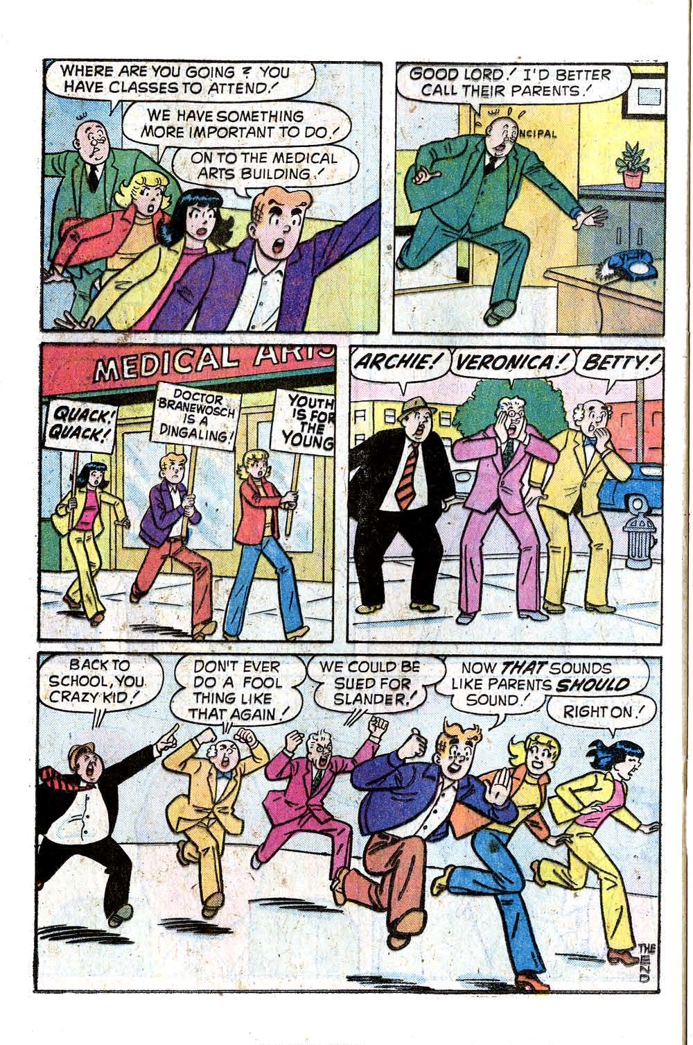 Read online Archie (1960) comic -  Issue #242 - 24