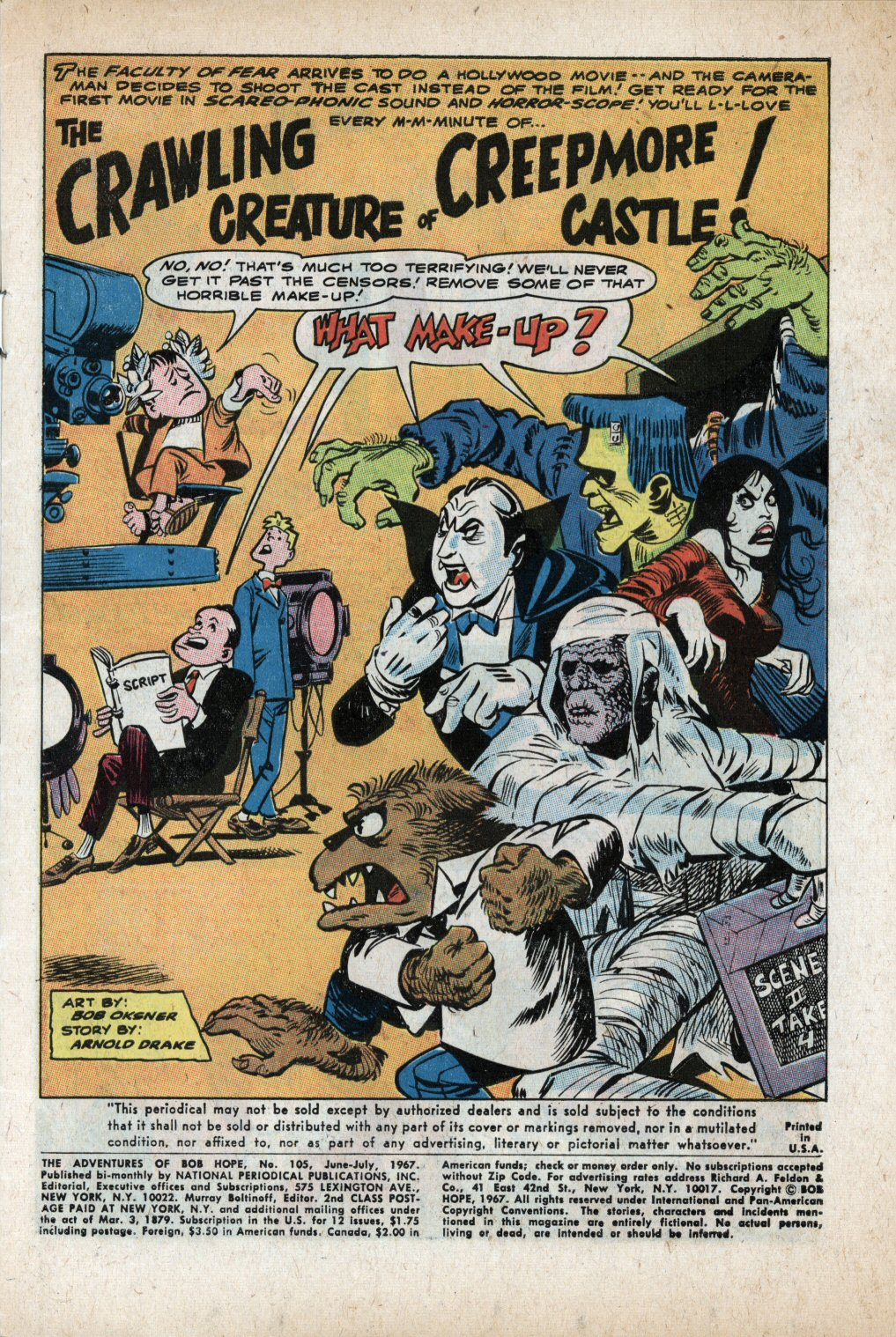 The Adventures of Bob Hope issue 105 - Page 3