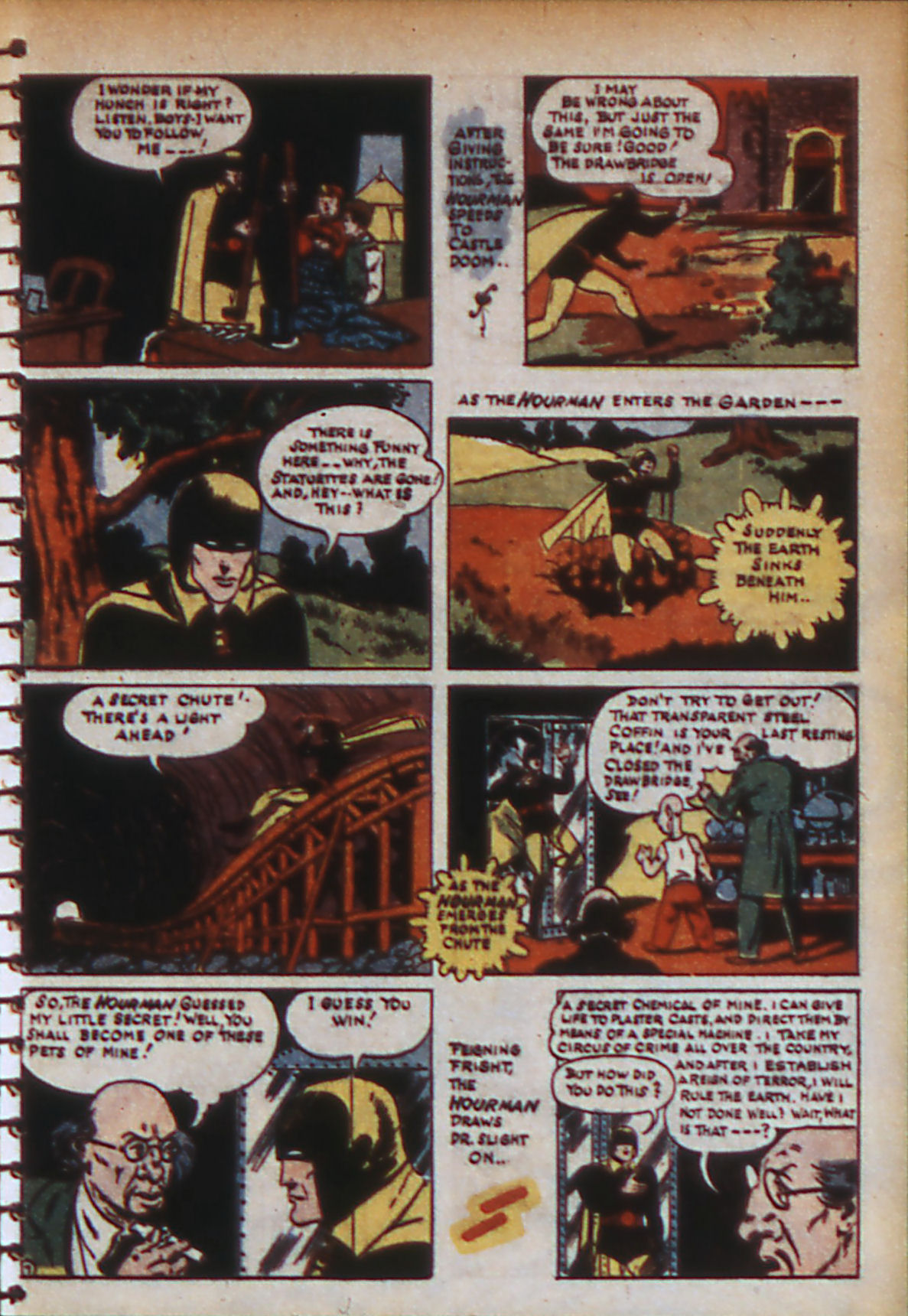 Read online Adventure Comics (1938) comic -  Issue #56 - 10