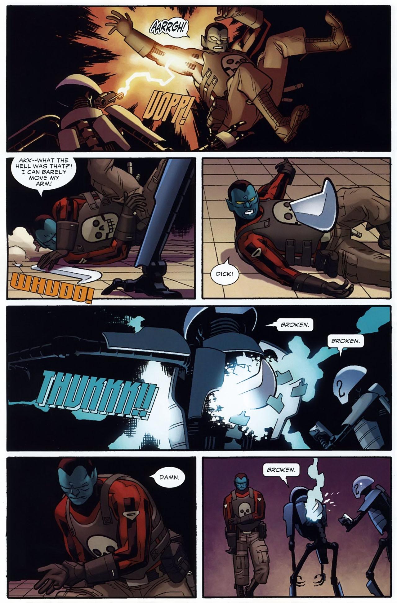 Read online Destroyer comic -  Issue #2 - 16