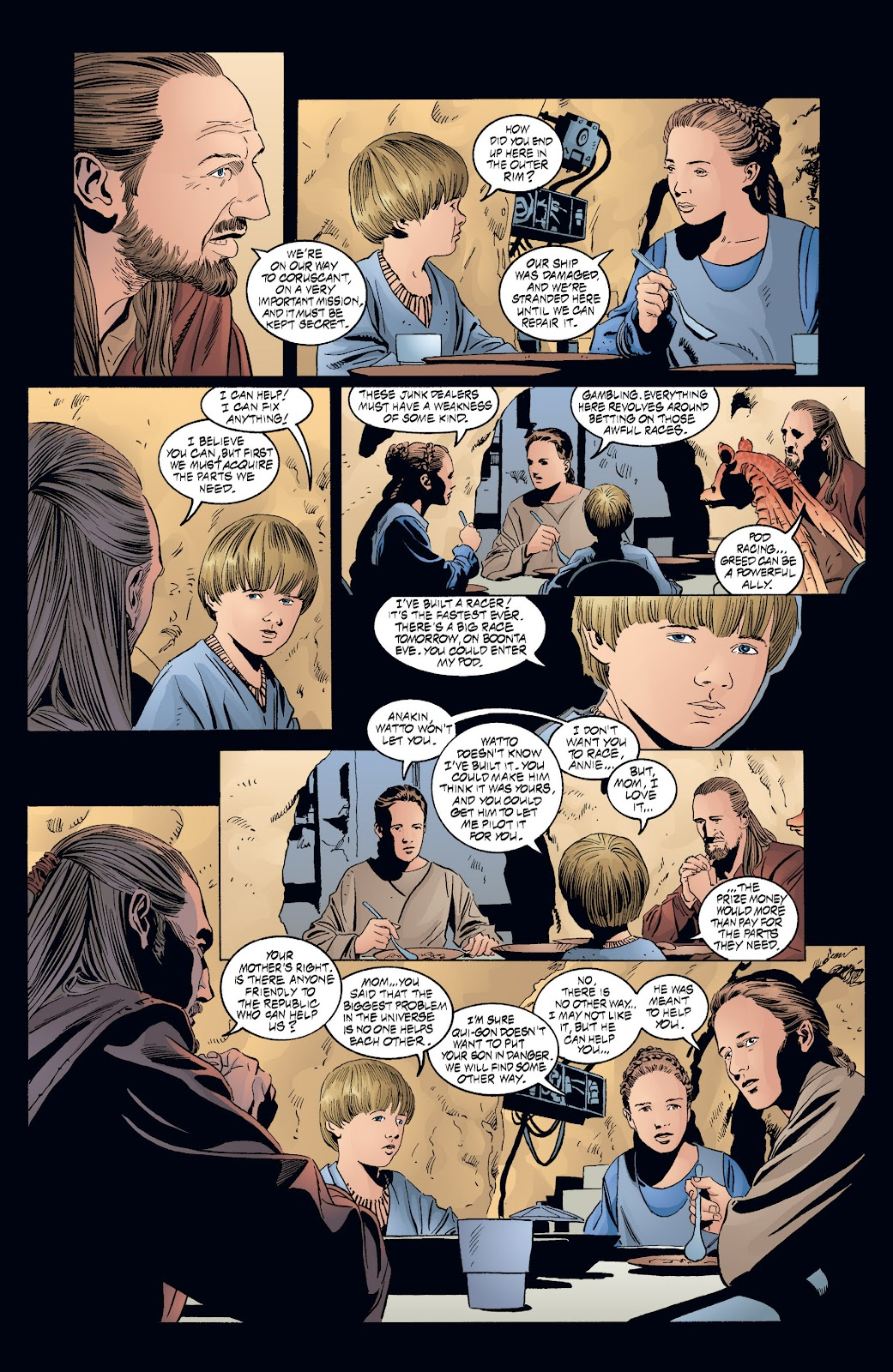 Read online Star Wars Legends: Rise of the Sith - Epic Collection comic -  Issue # TPB 2 (Part 3) - 76