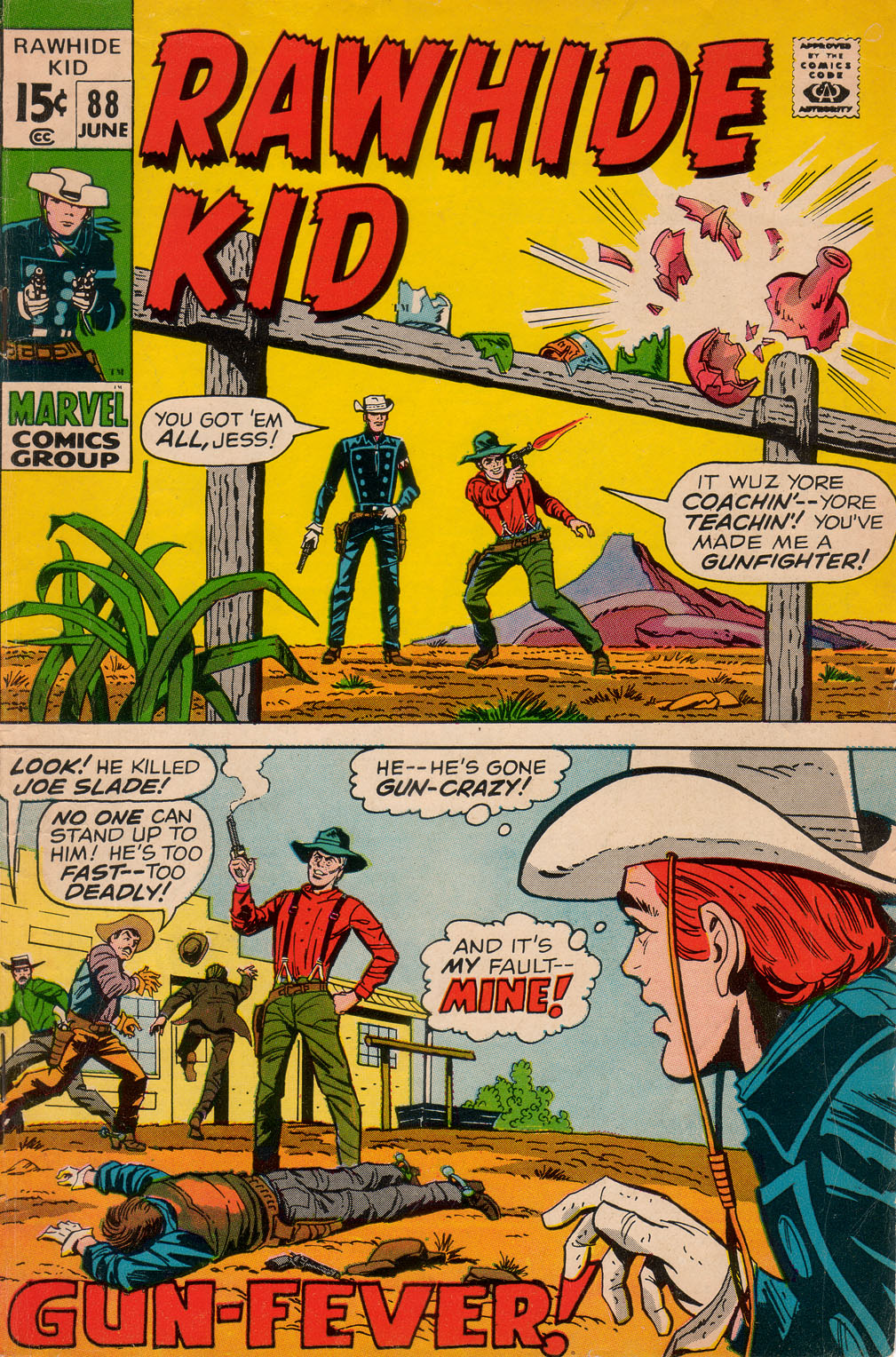 The Rawhide Kid (1955) issue 88 - Page 1