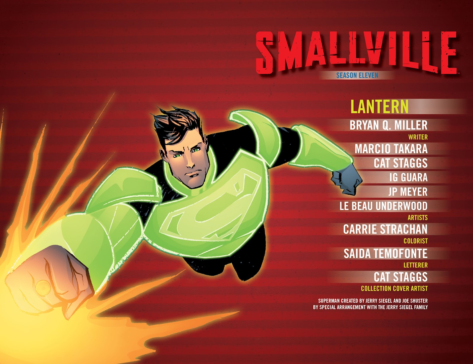 Read online Smallville Season 11 [II] comic -  Issue # TPB 7 - 3