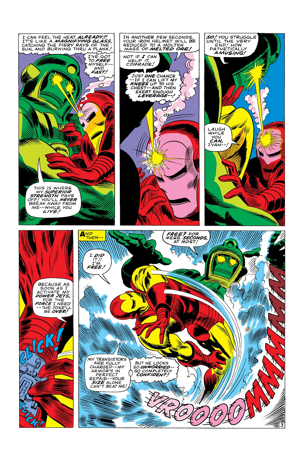 Read online Marvel Masterworks: The Invincible Iron Man comic -  Issue # TPB 3 (Part 4) - 74