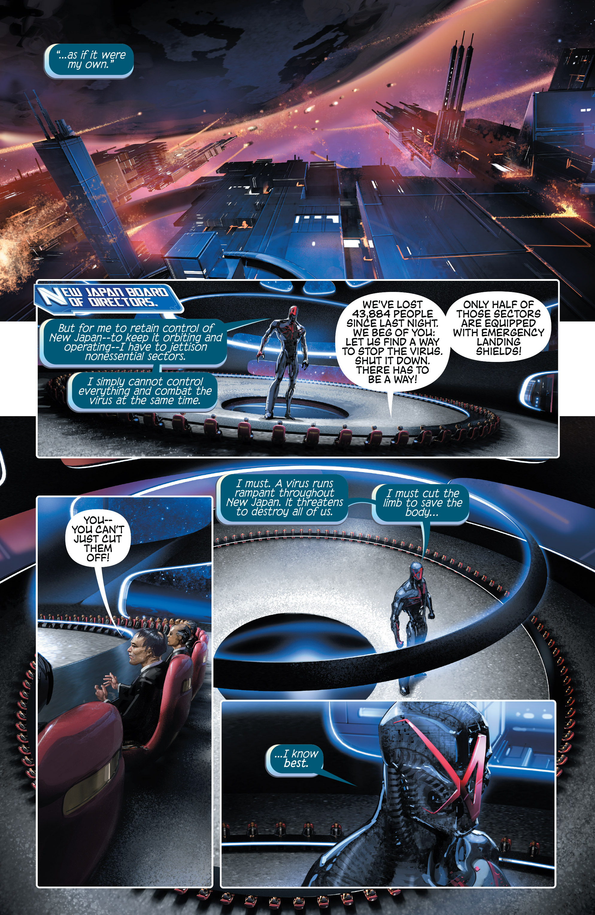 Read online 4001 A.D. comic -  Issue #1 - 10