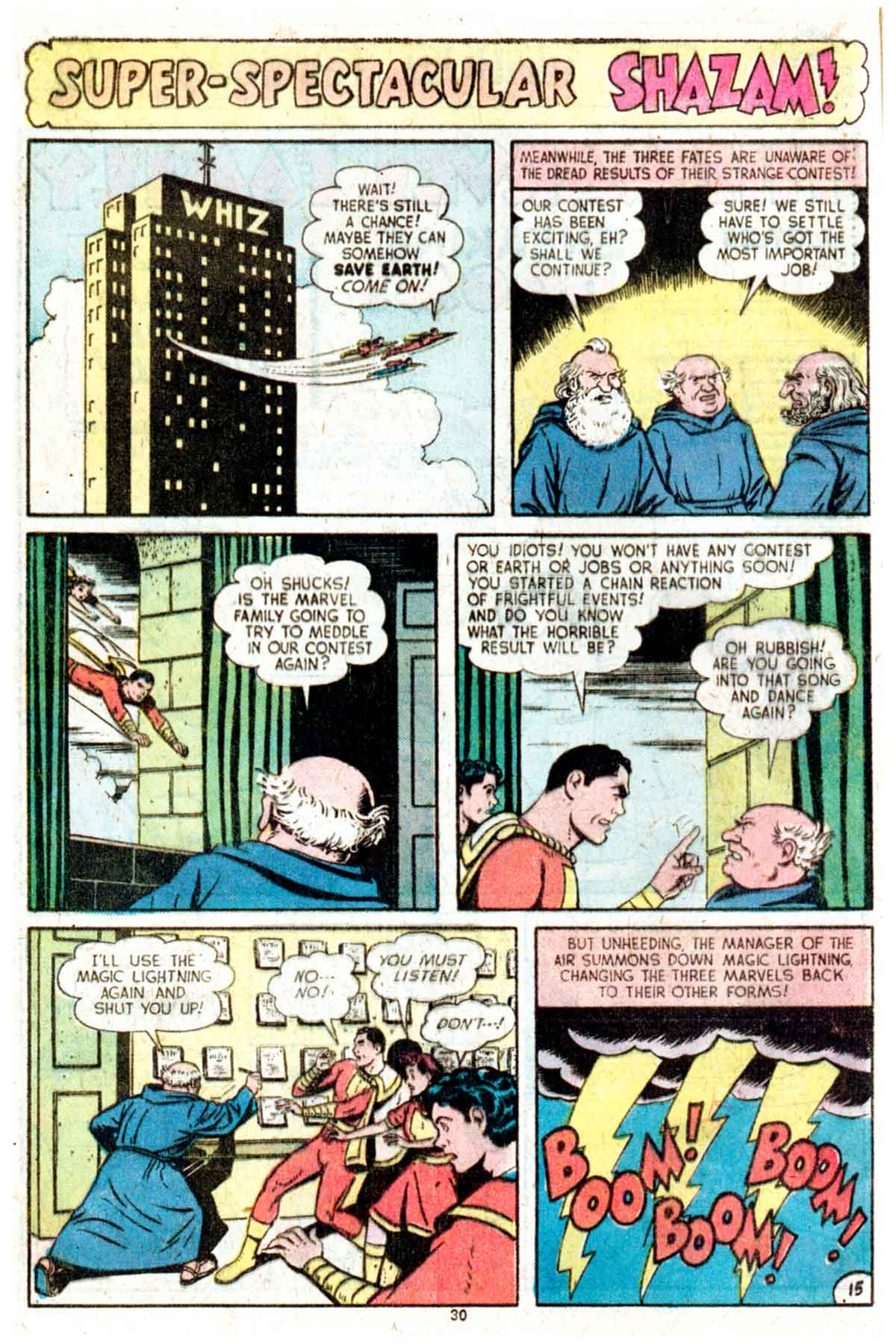 Read online Shazam! (1973) comic -  Issue #16 - 30
