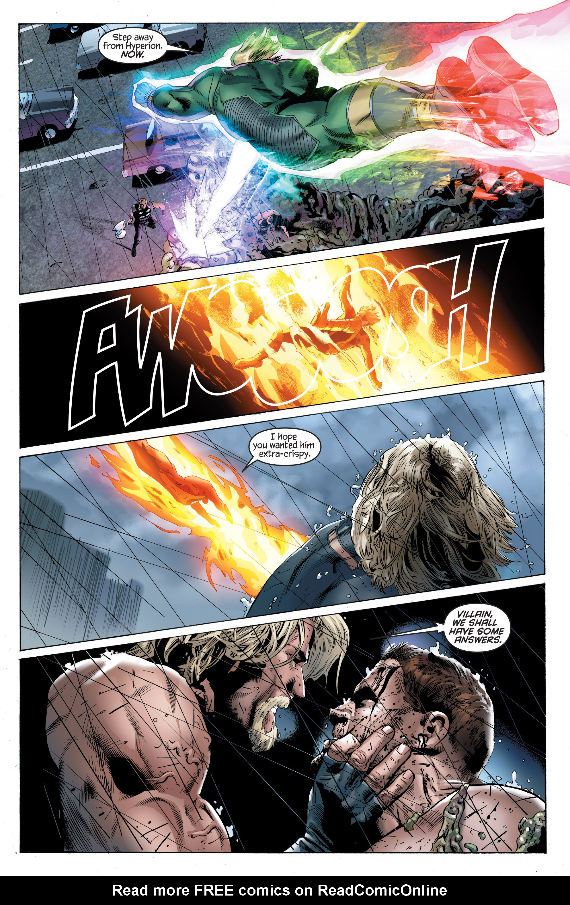 Read online Ultimate Power comic -  Issue #7 - 17