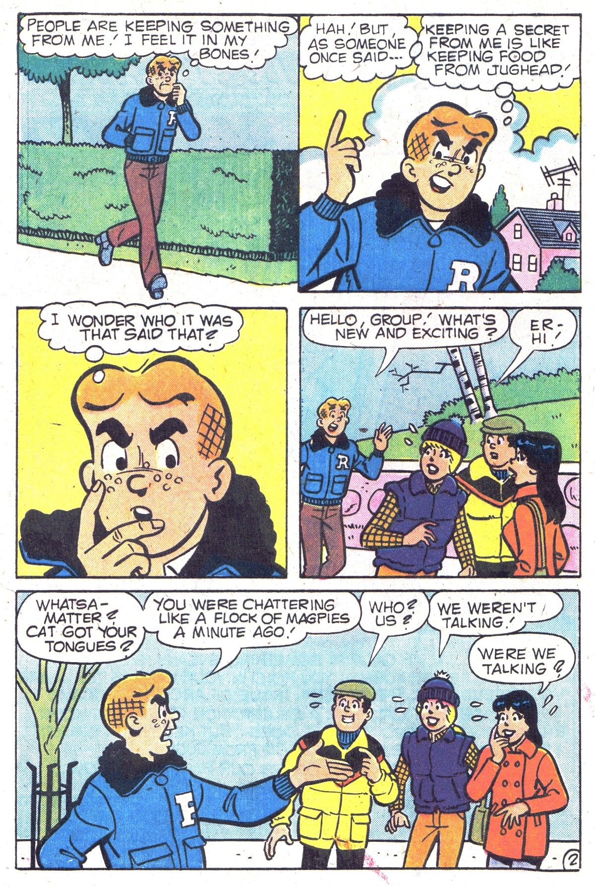 Read online Archie (1960) comic -  Issue #300 - 4