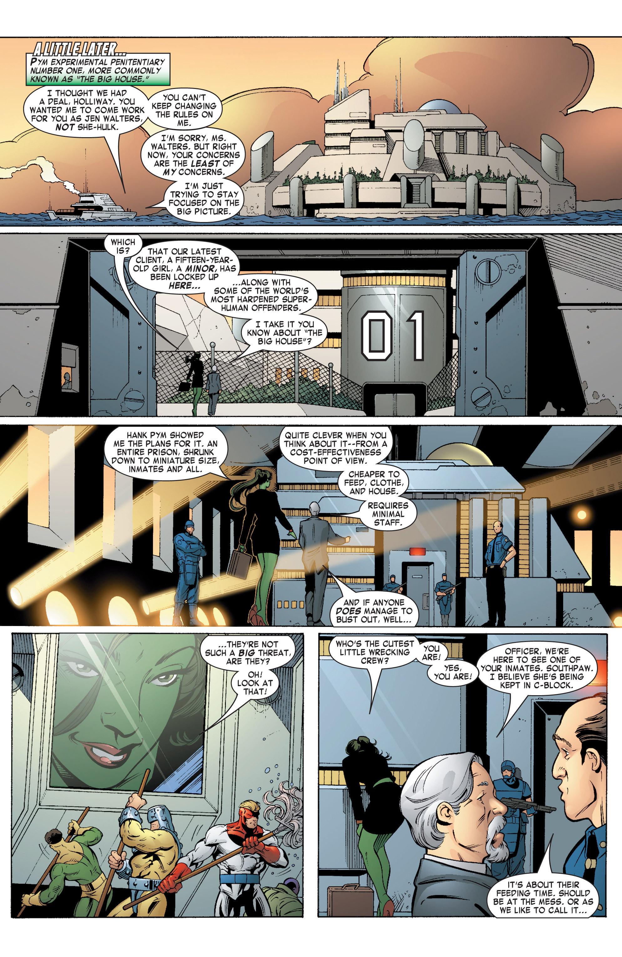Read online She-Hulk (2004) comic -  Issue #5 - 14