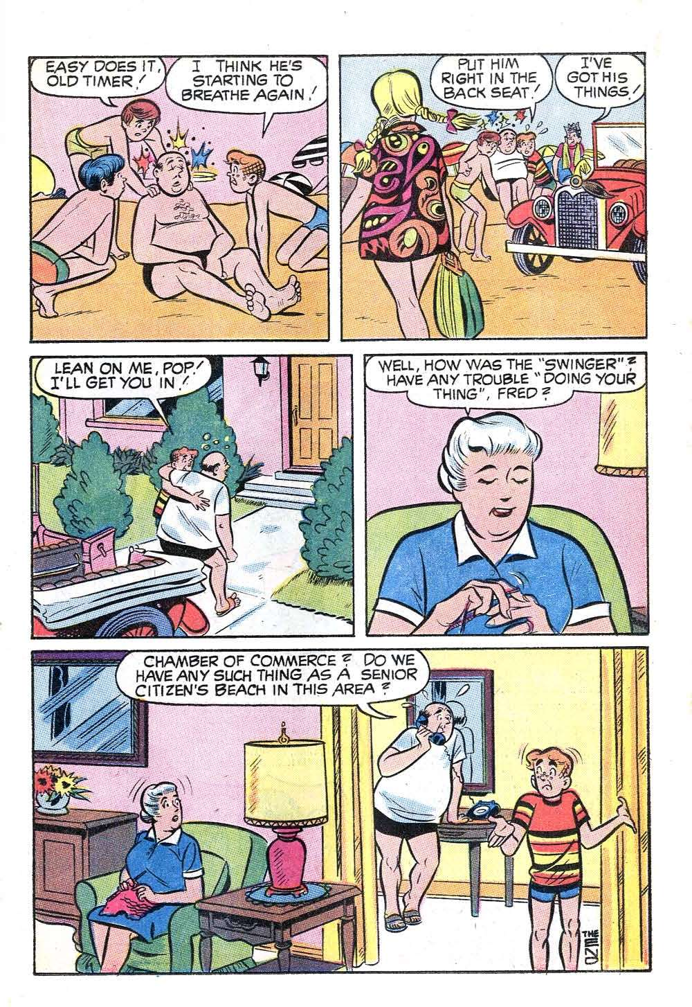 Read online Archie (1960) comic -  Issue #204 - 17