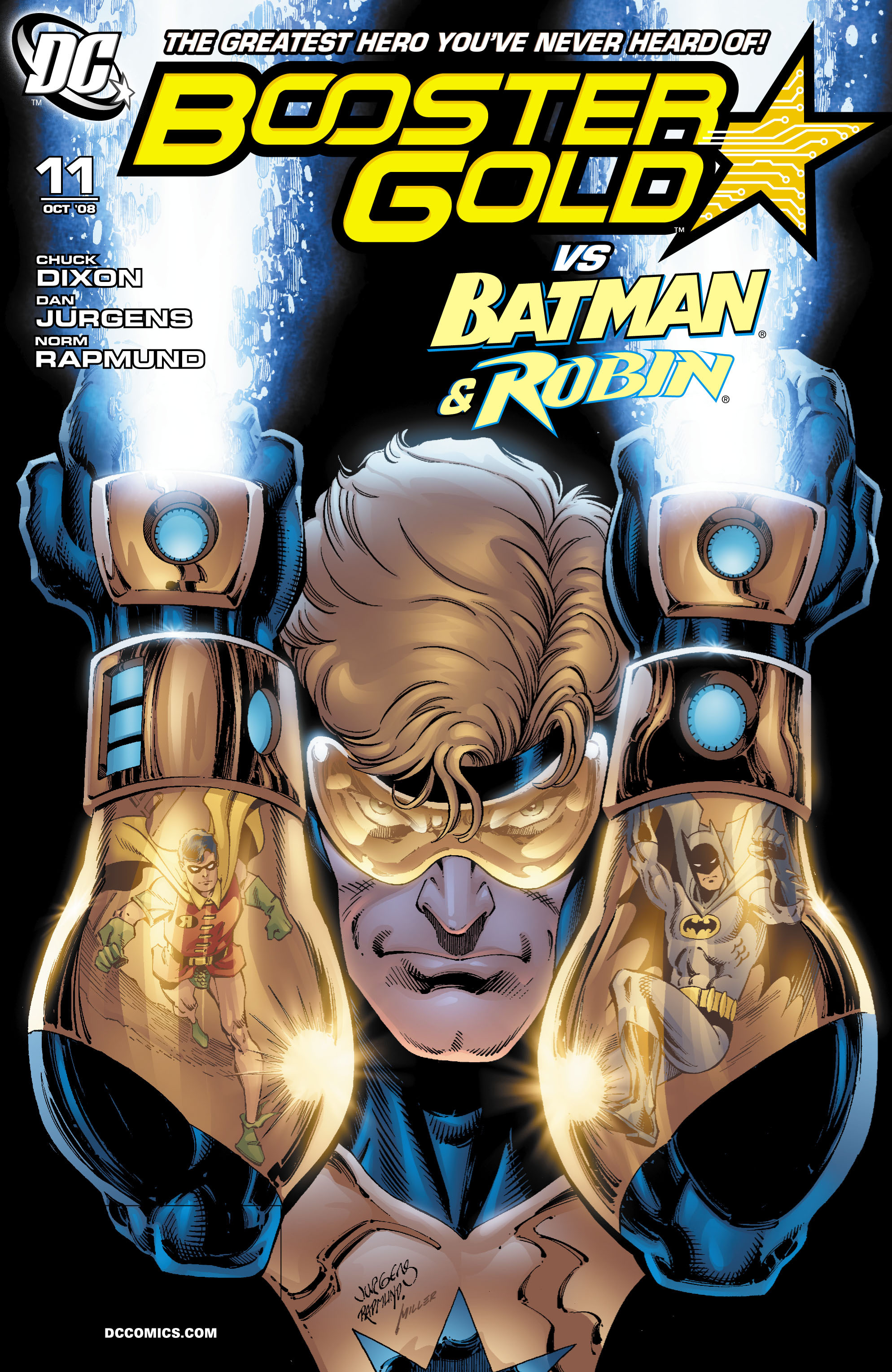 Booster Gold 2007 Issue 11
