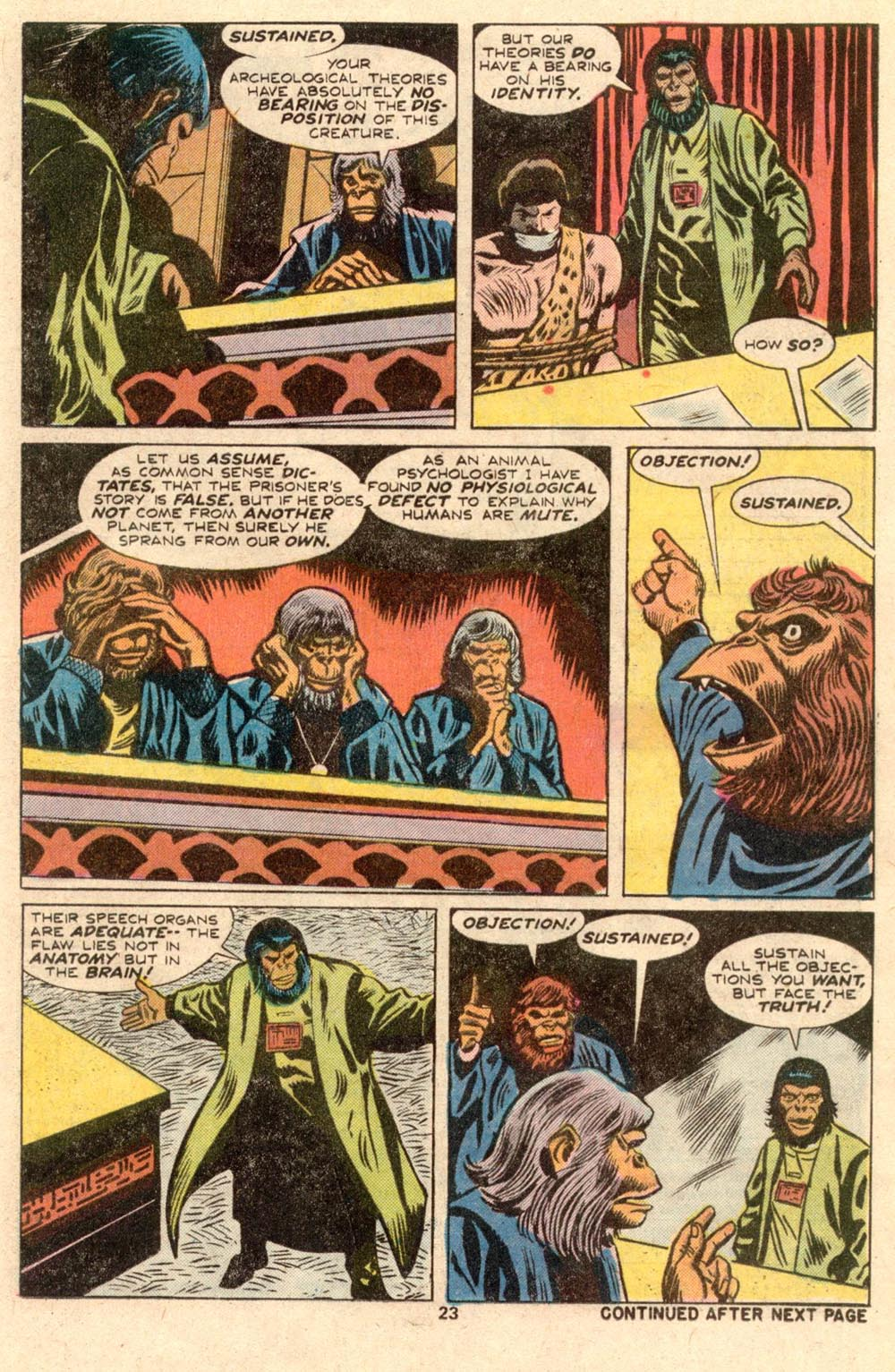 Read online Adventures on the Planet of the Apes comic -  Issue #4 - 16