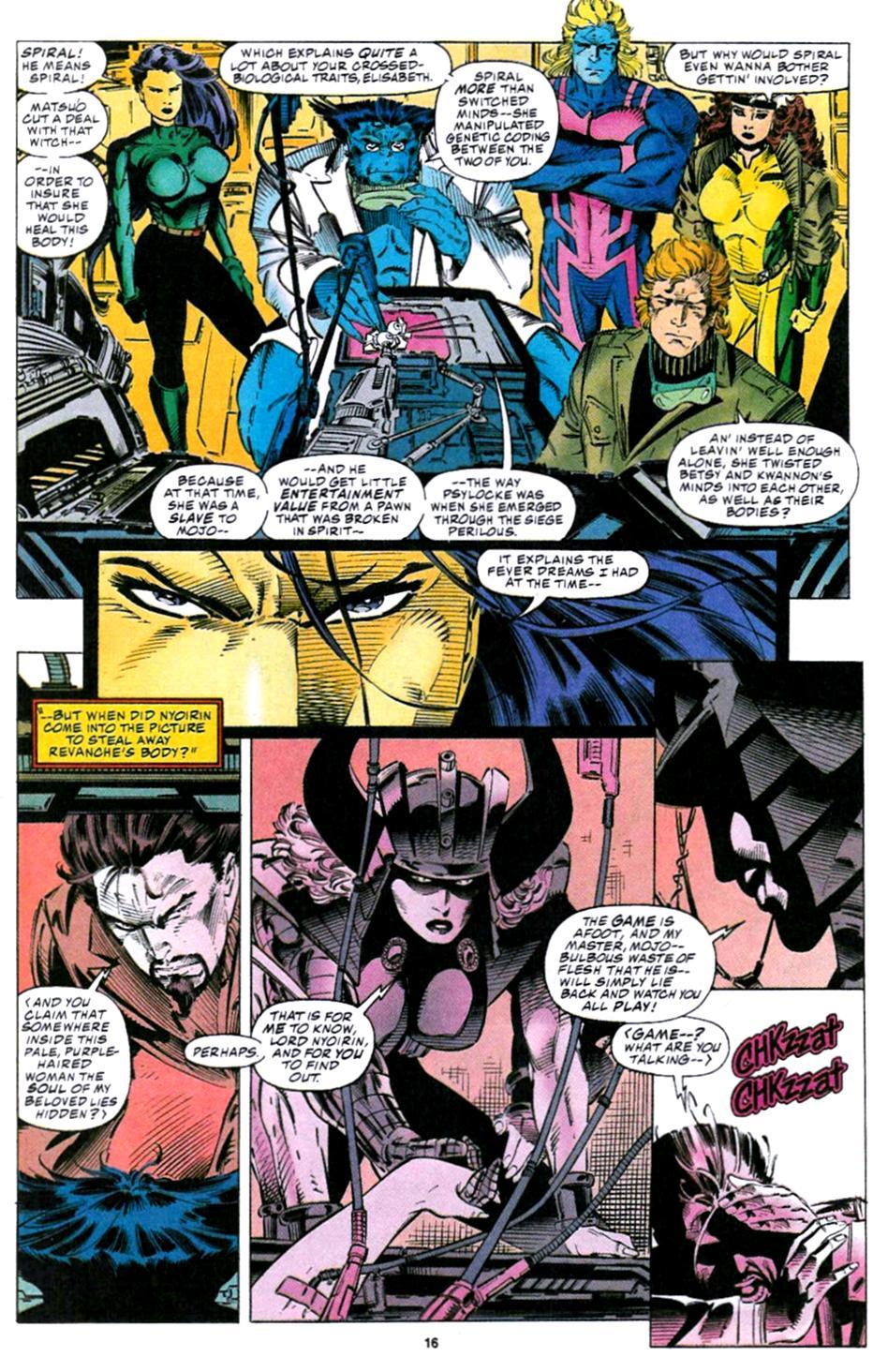 X-Men (1991) 32 Page 10