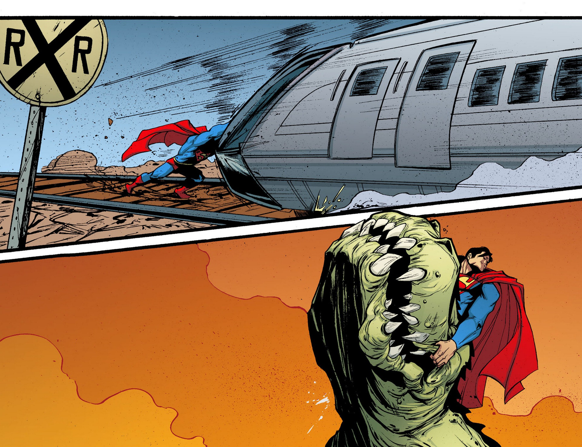 Read online Adventures of Superman [I] comic -  Issue #5 - 13