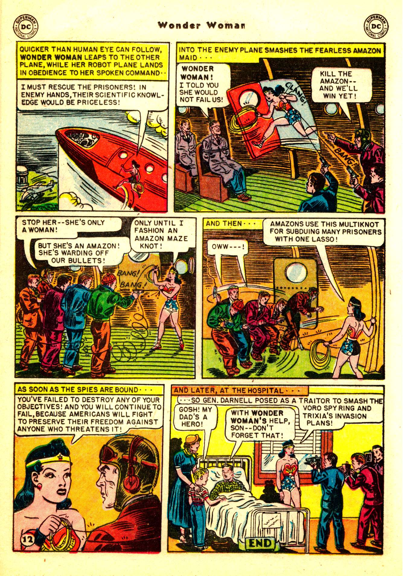 Read online Wonder Woman (1942) comic -  Issue #50 - 14