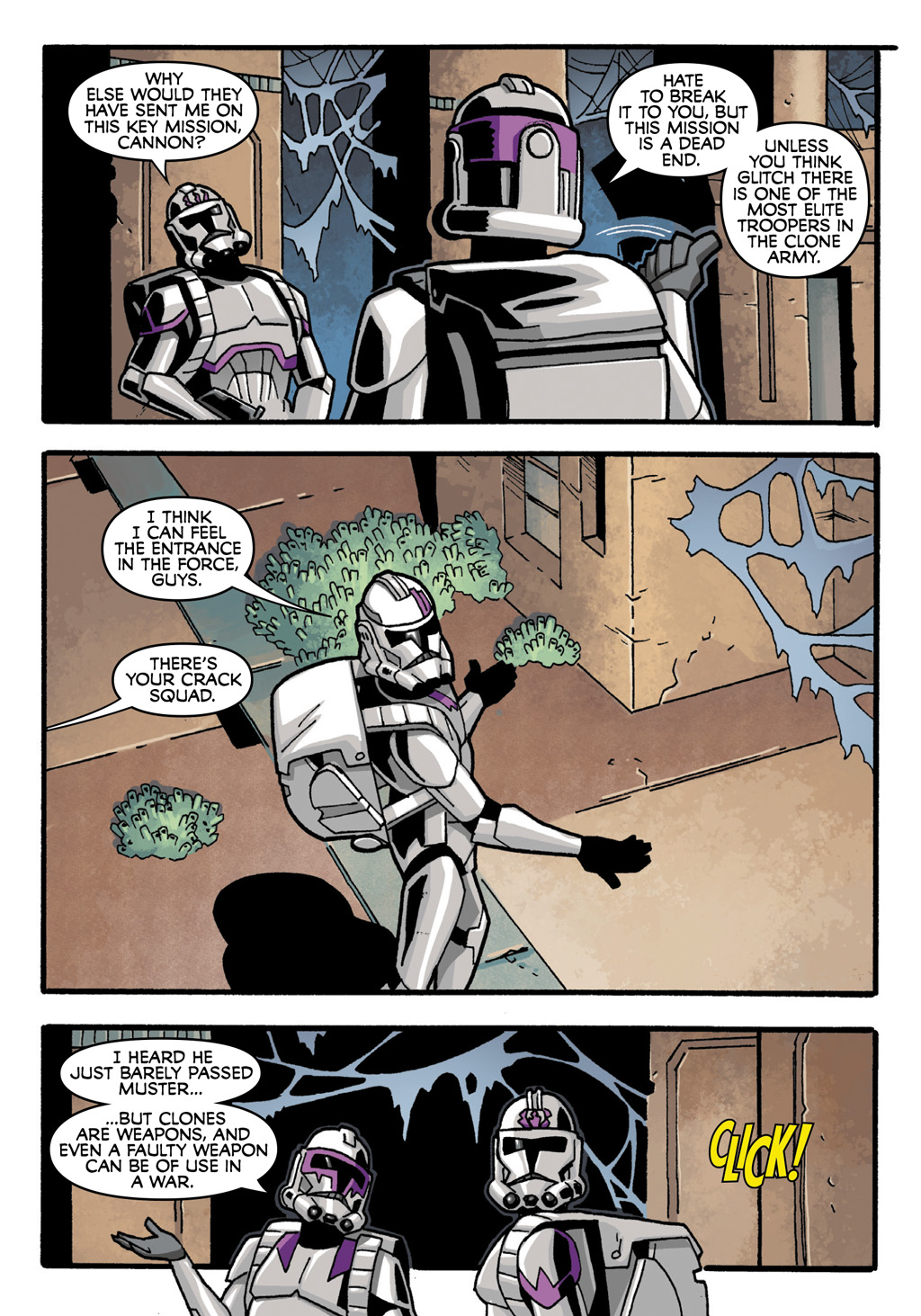 Read online Star Wars: The Clone Wars - Defenders of the Lost Temple comic -  Issue # Full - 14