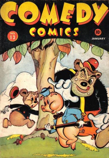 Comedy Comics (1942) 13 Page 1