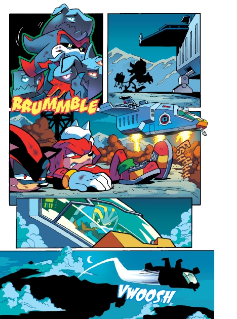Read online Sonic Comics Spectacular: Speed of Sound comic -  Issue # Full - 250
