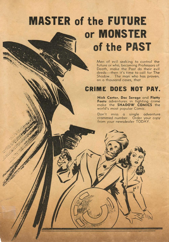 Read online Shadow Comics comic -  Issue #74 - 2