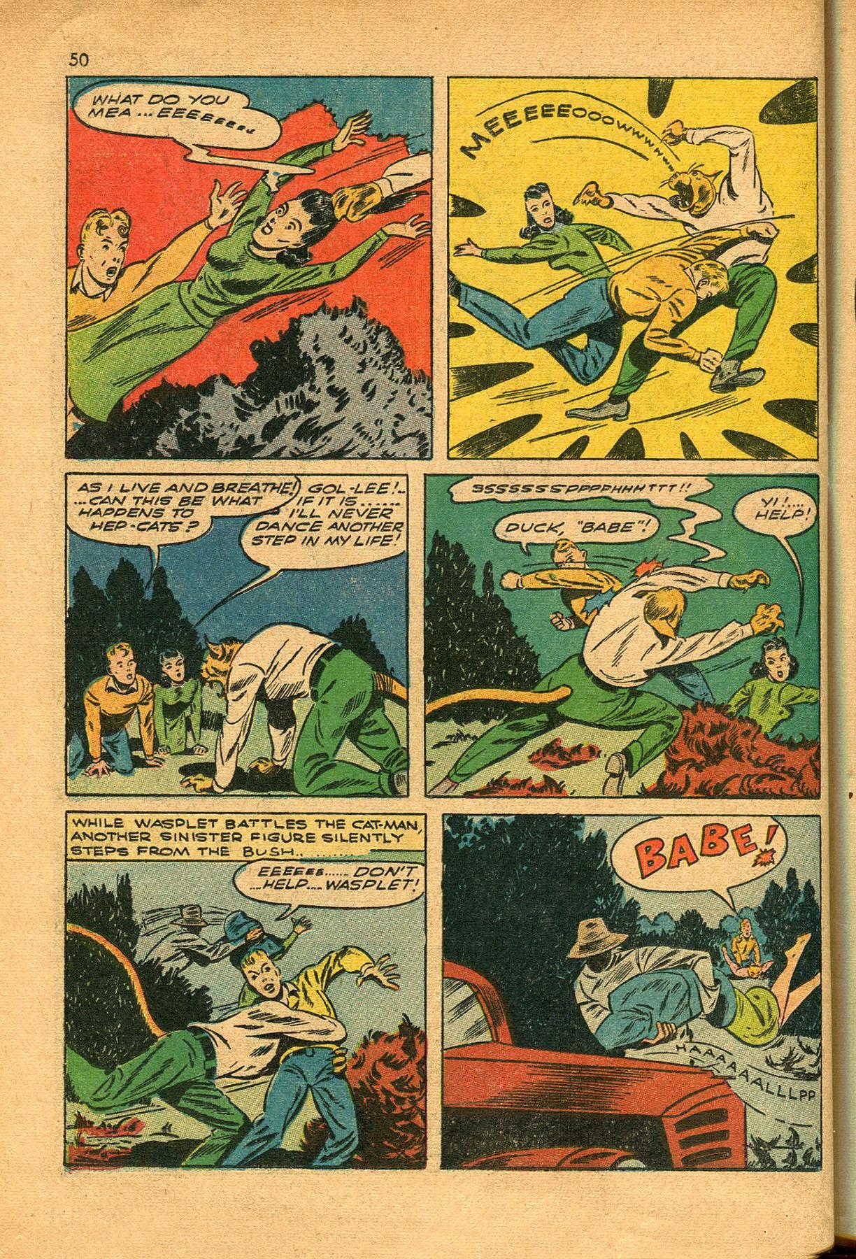 Read online Shadow Comics comic -  Issue #23 - 50