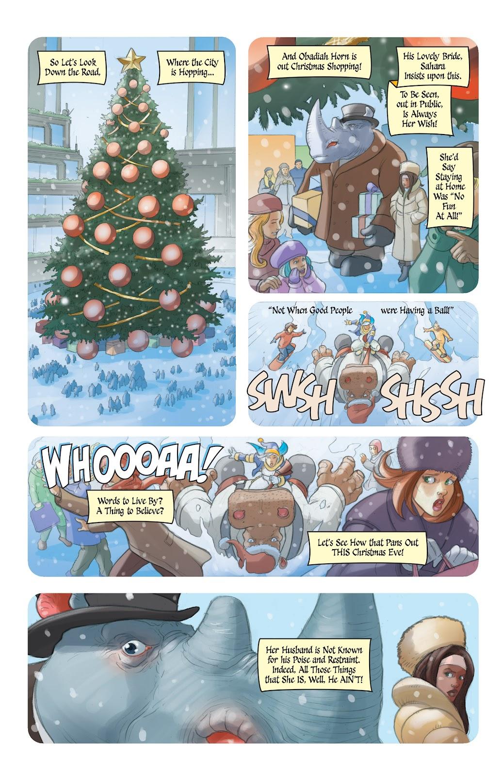 Read online Elephantmen 2261 Season Two: The Pentalion Job comic -  Issue # TPB - 107