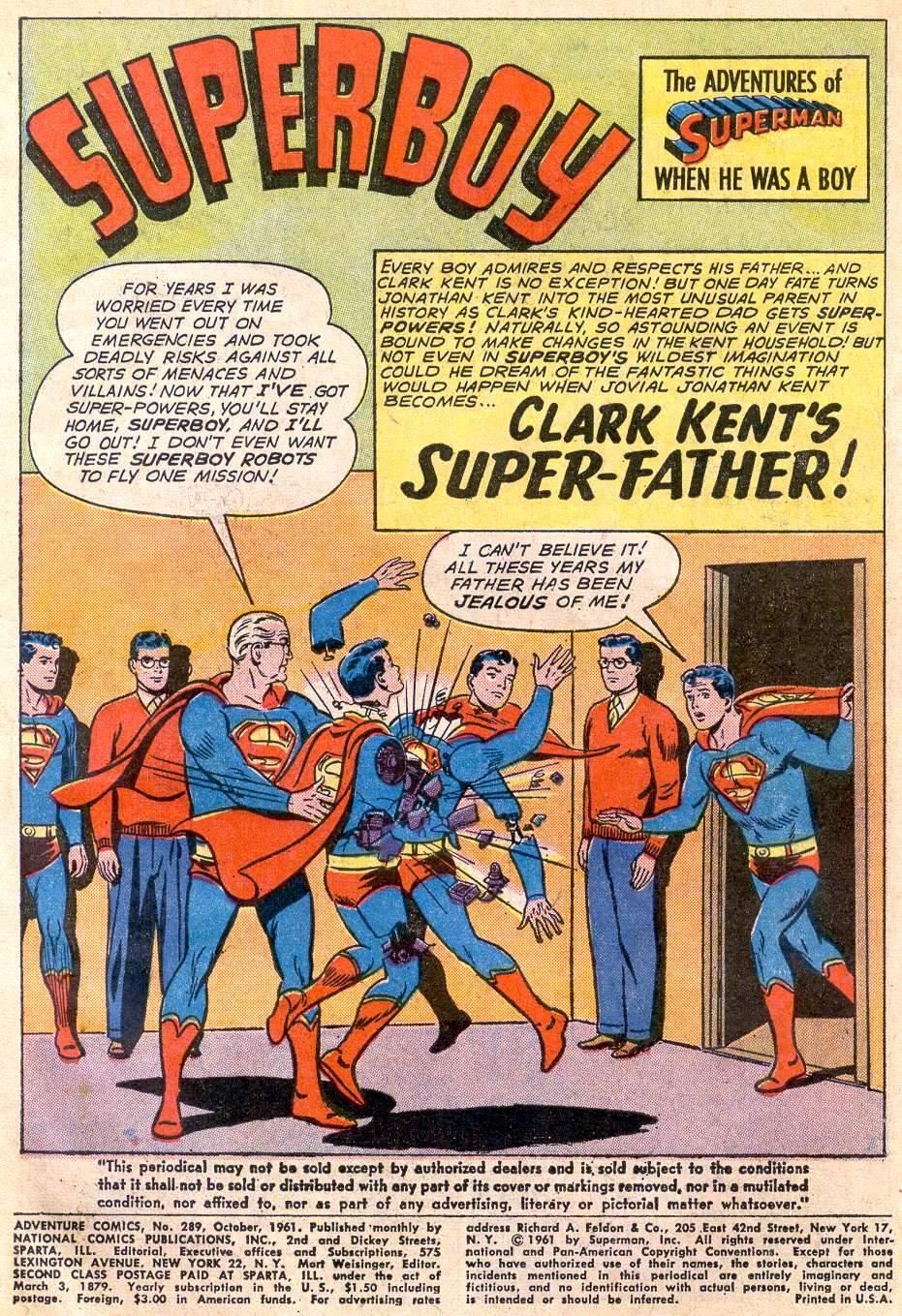 Read online Adventure Comics (1938) comic -  Issue #289 - 3