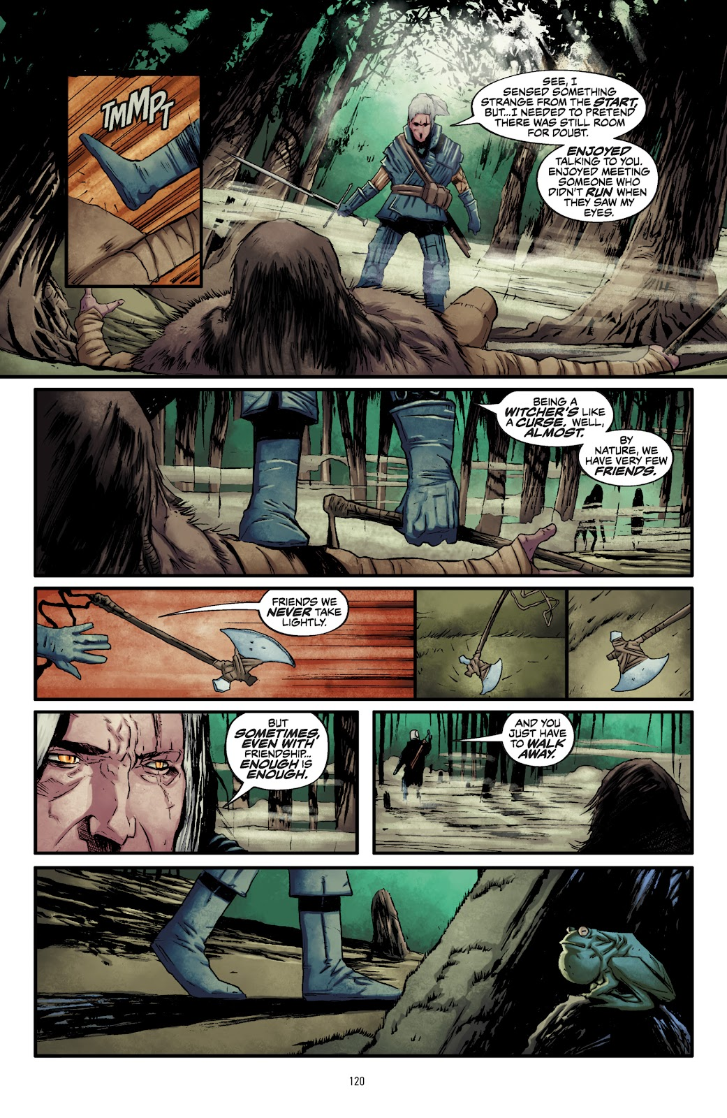 Read online The Witcher Omnibus comic -  Issue # TPB (Part 2) - 23