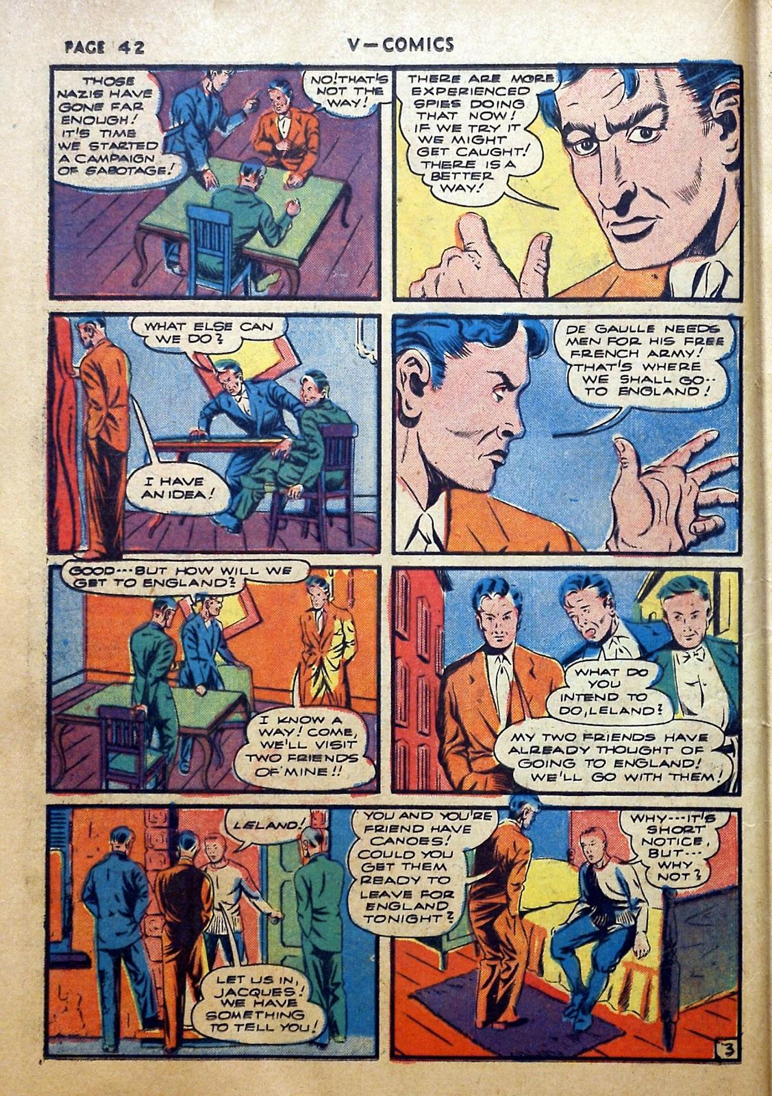 Read online V...- Comics comic -  Issue #2 - 43