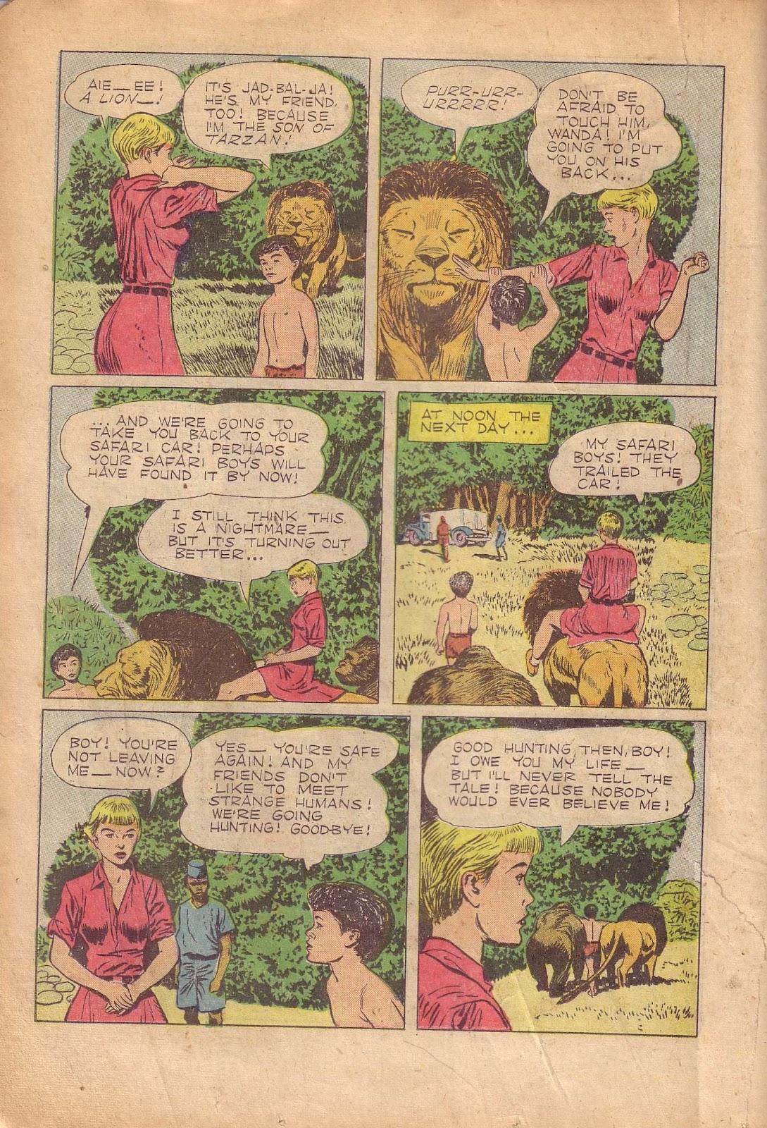 Tarzan (1948) issue 50 - Page 26