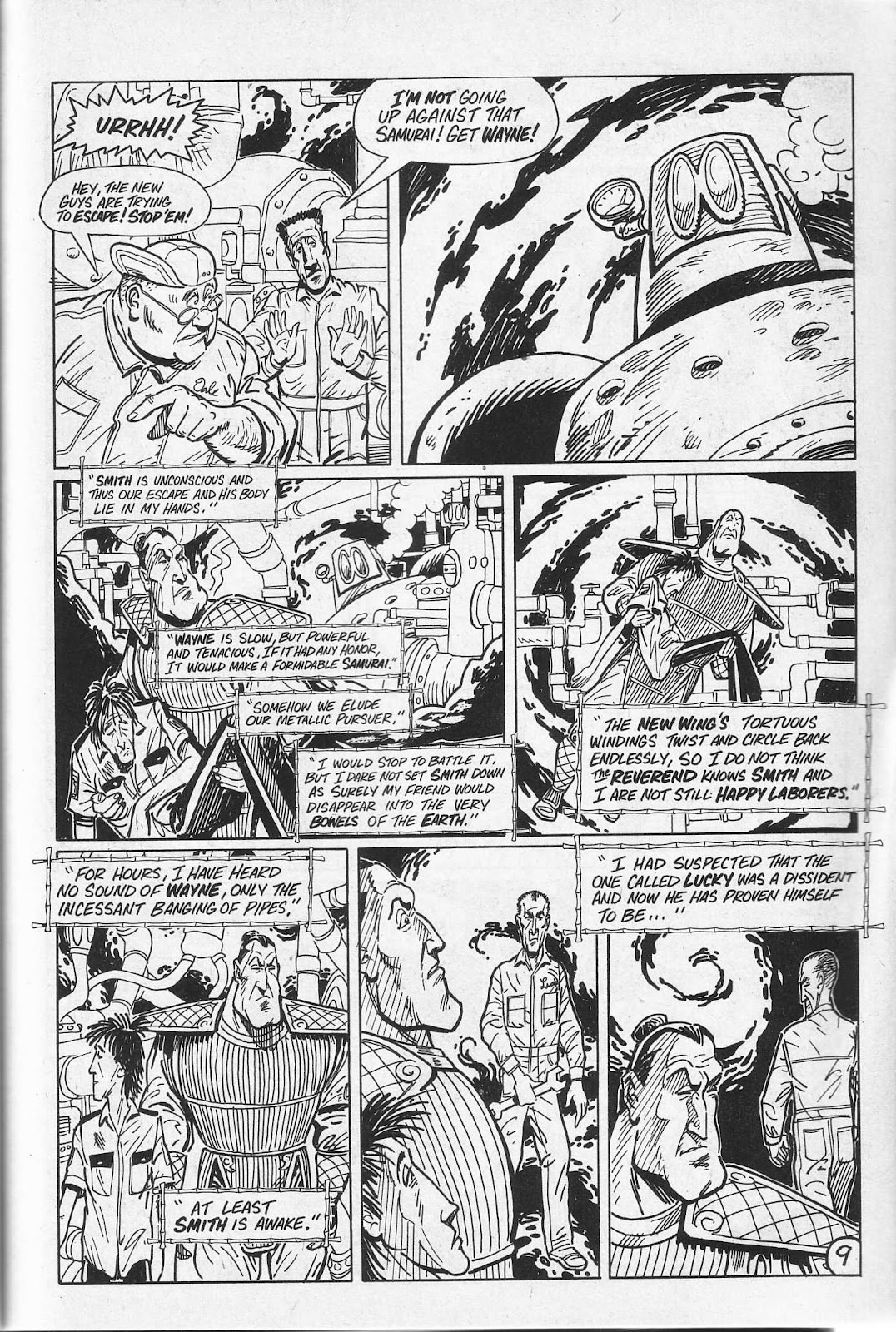 Read online Paul the Samurai (1991) comic -  Issue # TPB - 45