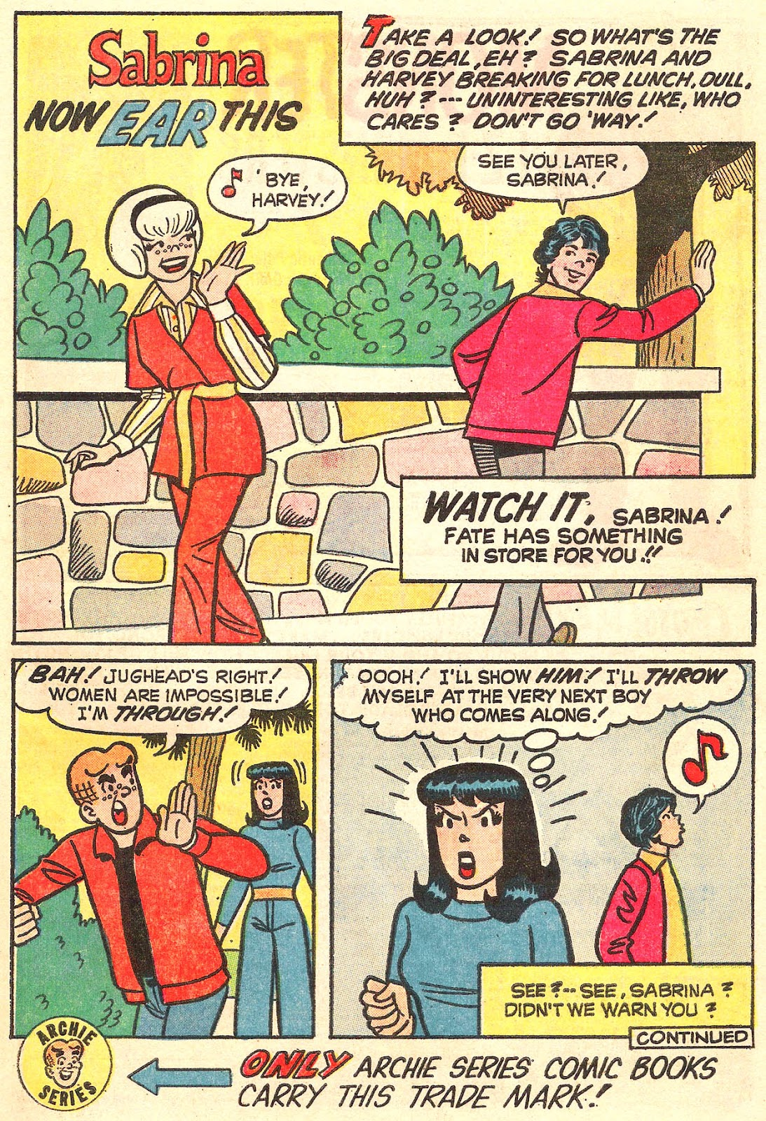 Sabrina The Teenage Witch (1971) Issue #16 #16 - English 43