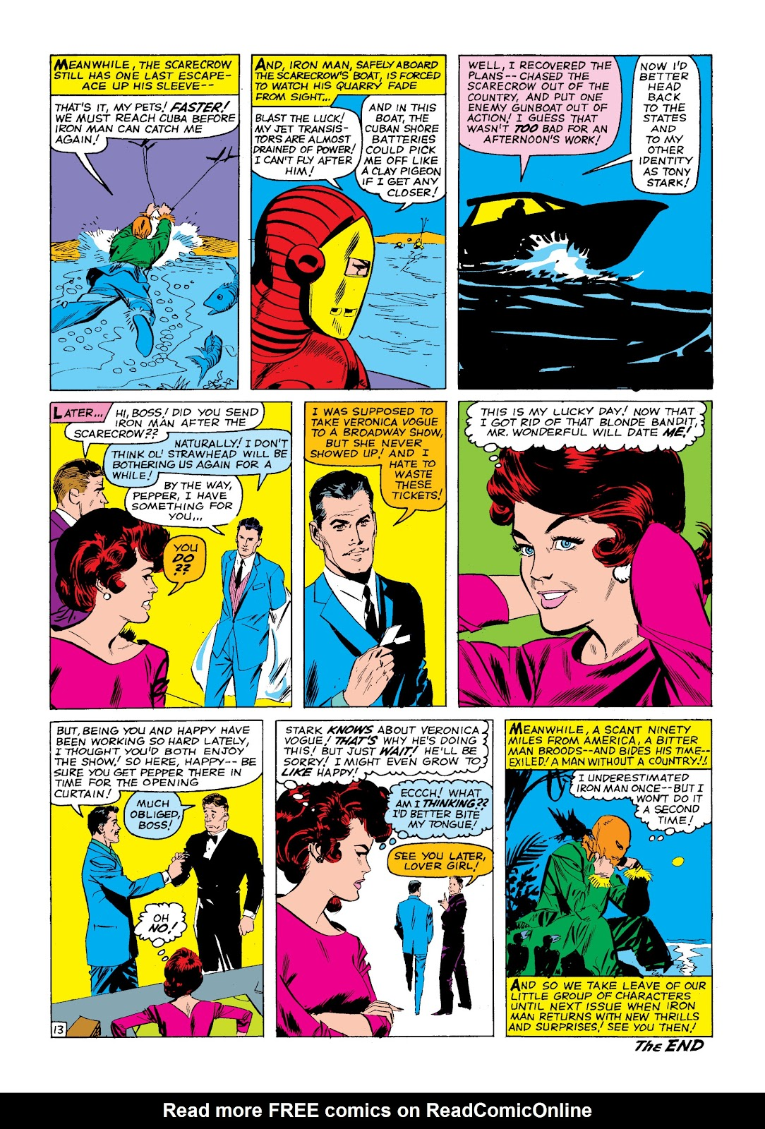 Read online Marvel Masterworks: The Invincible Iron Man comic -  Issue # TPB 2 (Part 1) - 16