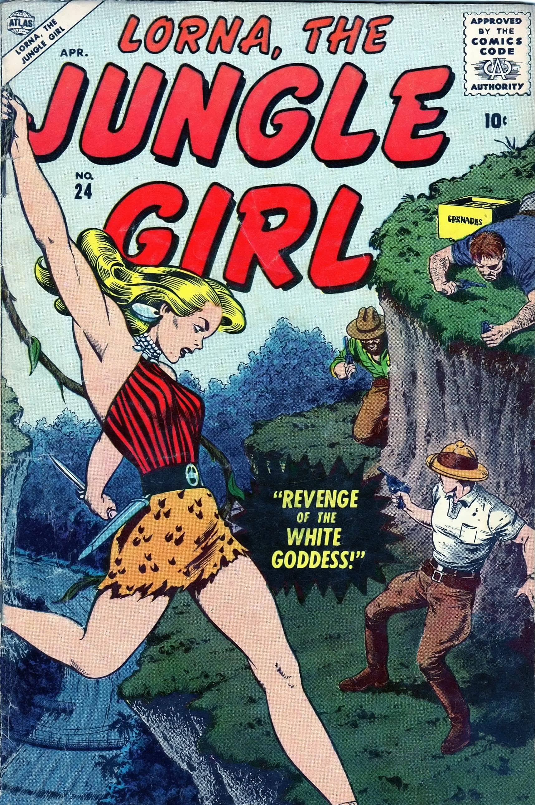 Lorna, The Jungle Girl 24 Page 1