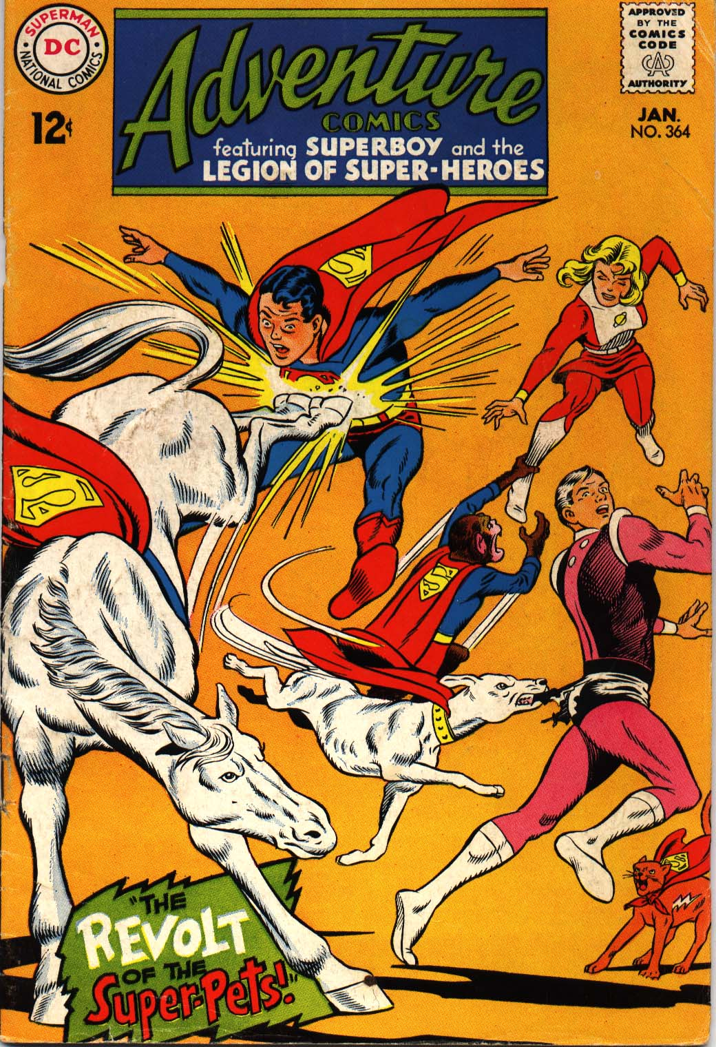 Read online Adventure Comics (1938) comic -  Issue #364 - 1